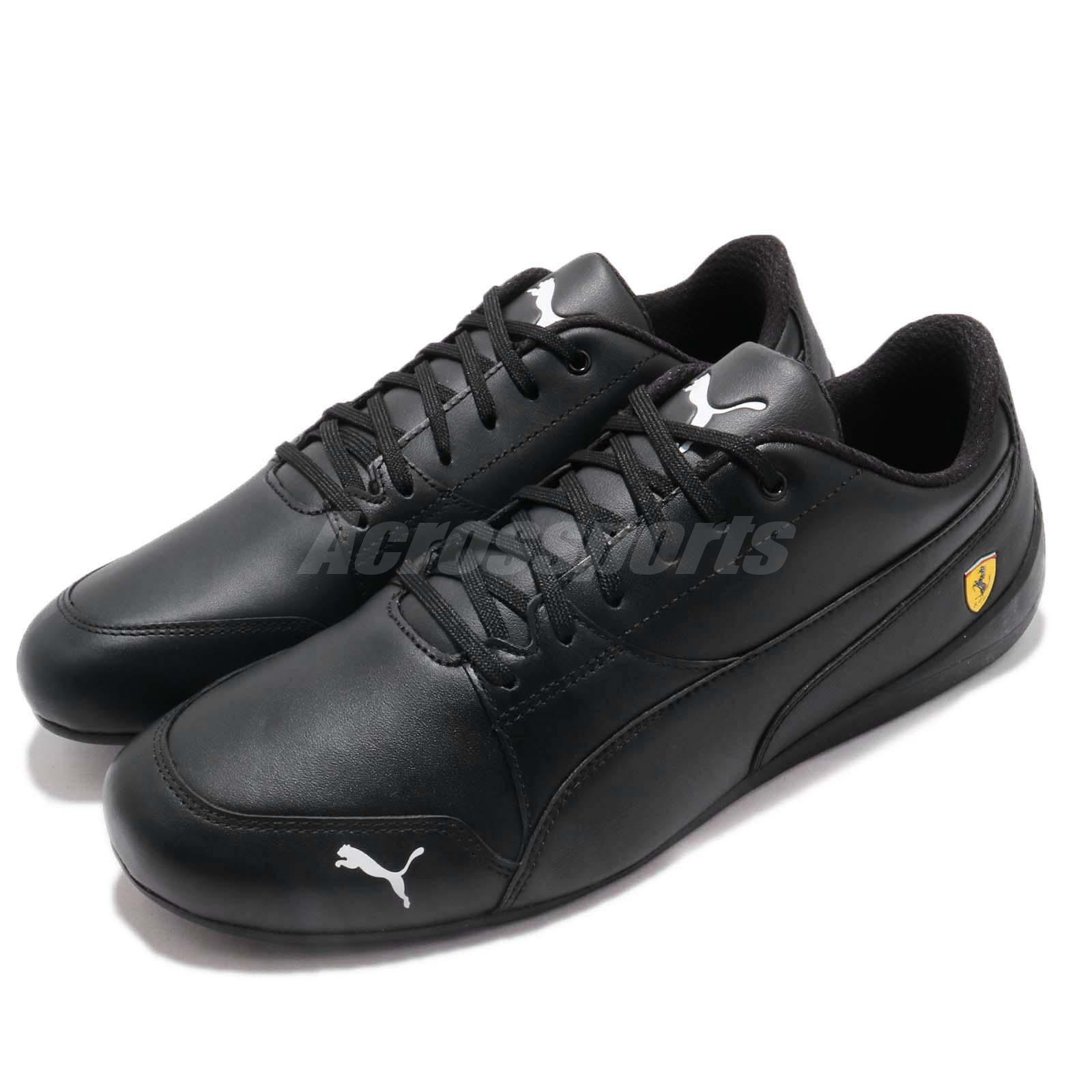 Details about Puma SF Drift Cat 7 Ferrari Black White Men Women Motorsport  Shoes 305998-05 3d1a67393