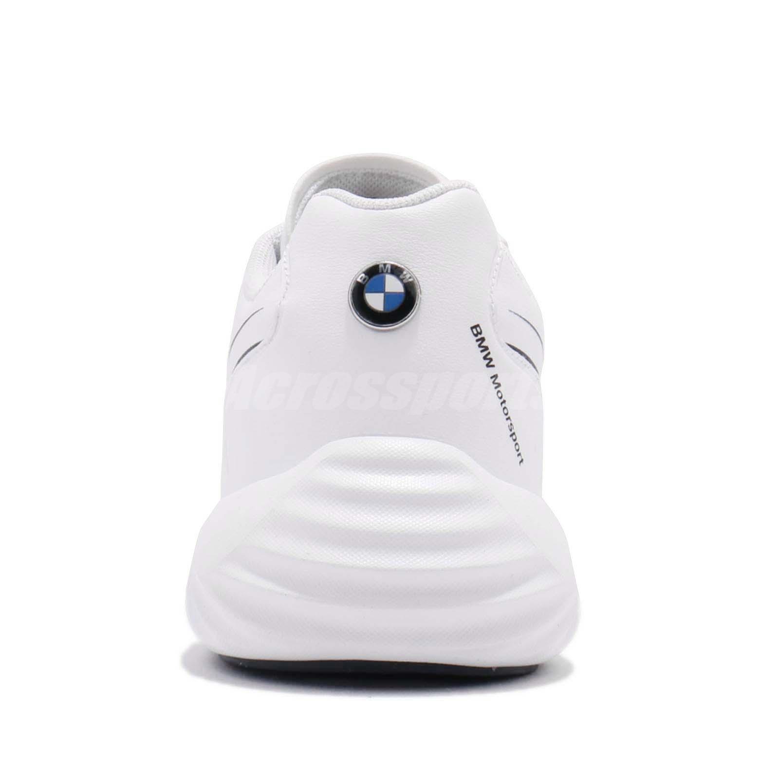 Dettagli su Puma BMW MS Speed Cat Synth White Team Blue Men Motorsport Shoes 306068 01