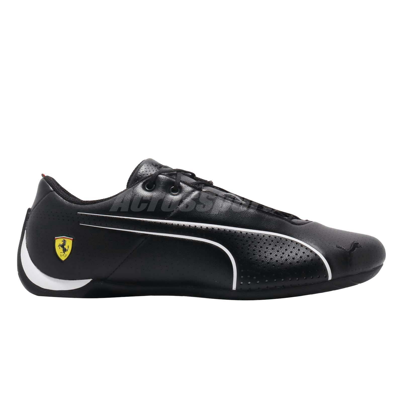 d319d488fa0ca9 Puma SF Future Cat Ultra Ferrari Black White Men Motorsport Shoes ...