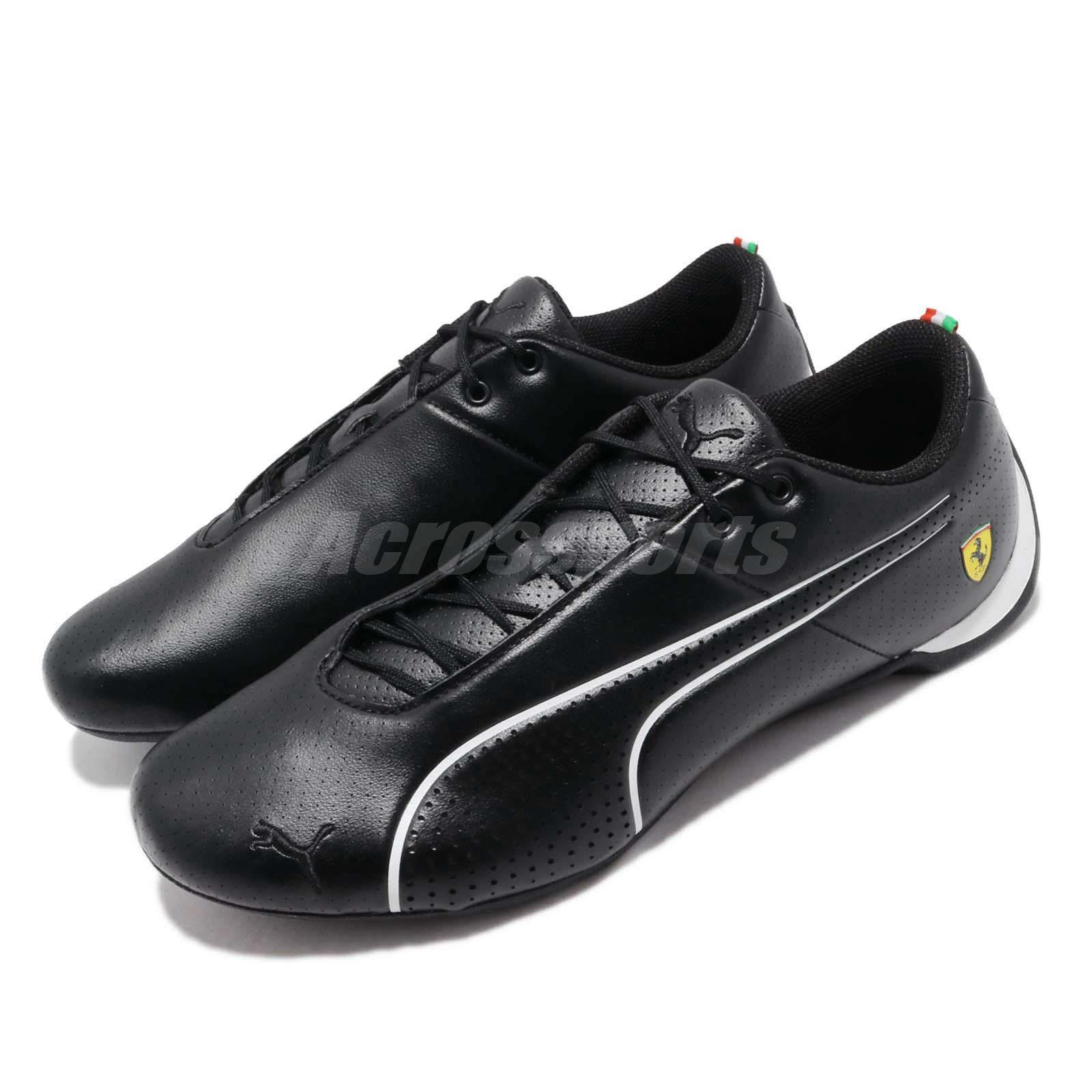 912a6e70452 Details about Puma SF Future Cat Ultra Ferrari Black White Men Motorsport  Shoes 306241-02
