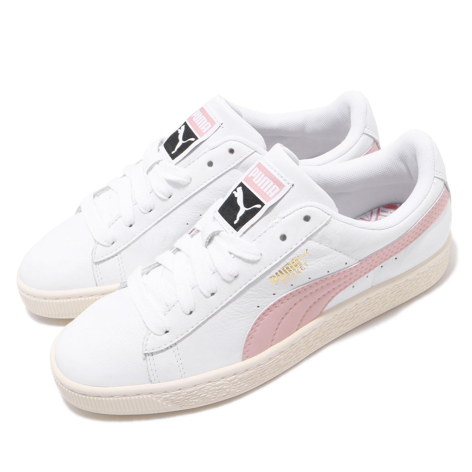 Habitat contacto enaguas  Puma Basket Classic LFS White Bridal Rose Men Casual Shoes Sneakers  354367-35 | eBay