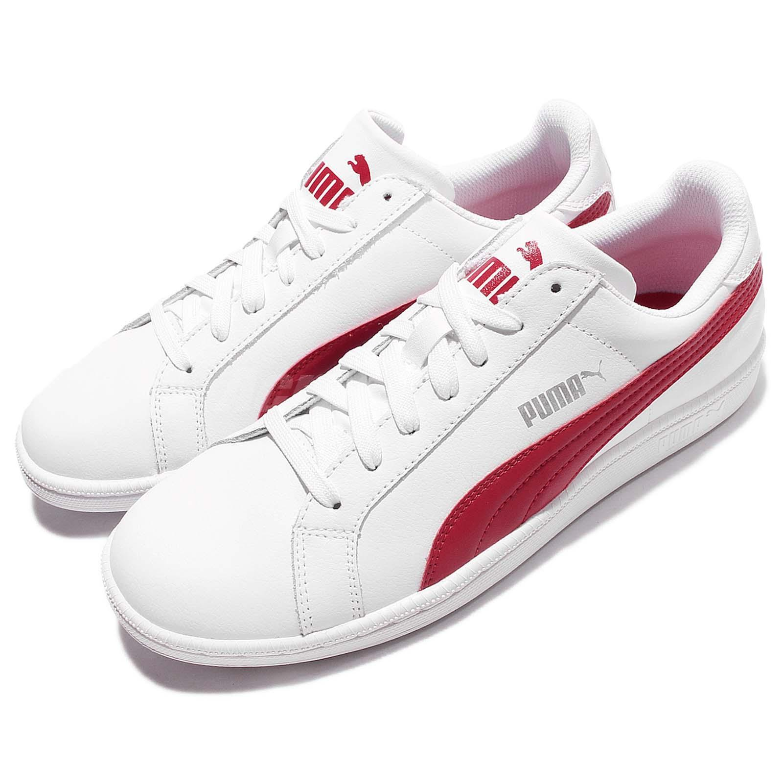 Mens White Puma Tennis Shoes