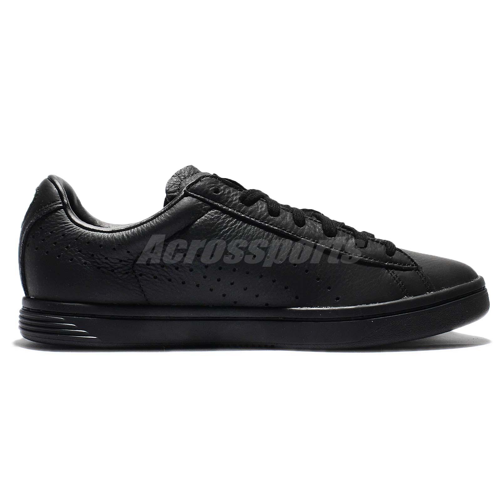 low priced 4fd87 30a88 Details about Puma Court Star NM Triple Black Leather Men Casual Shoes  Sneakers 357883-13