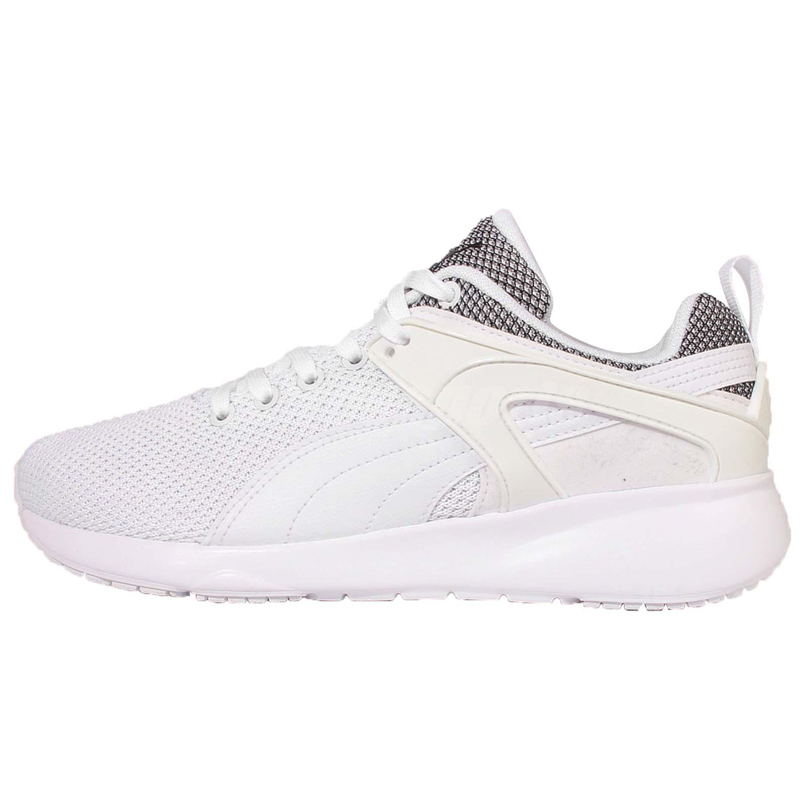 Puma Aril Blaze White Black Mens Running Shoes Sneakers Trainers 359792-05