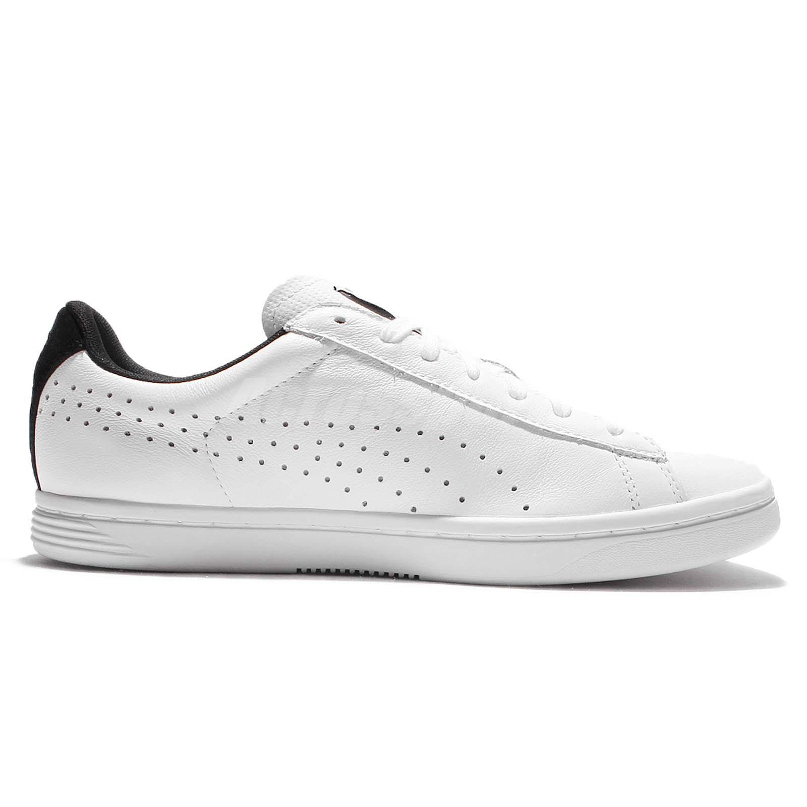 Puma Court Star CRFTD Crafted White Black Mens Training Shoes ... e2acd6354