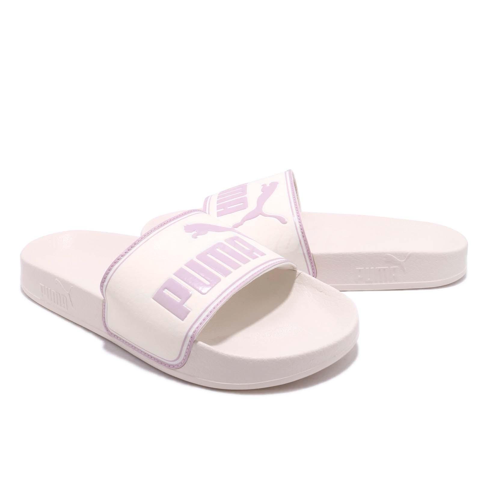 Puma Leadcat Whisper White Orchid Men Women Sports Sandals Slides 360263-12