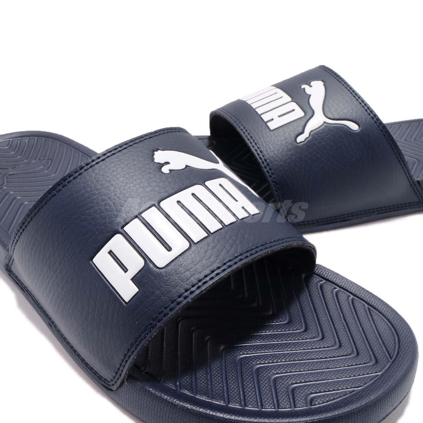 0a9e6ade92ff68 Puma Popcat Blue White Men Women Sandal Slippers Slides 360265-23