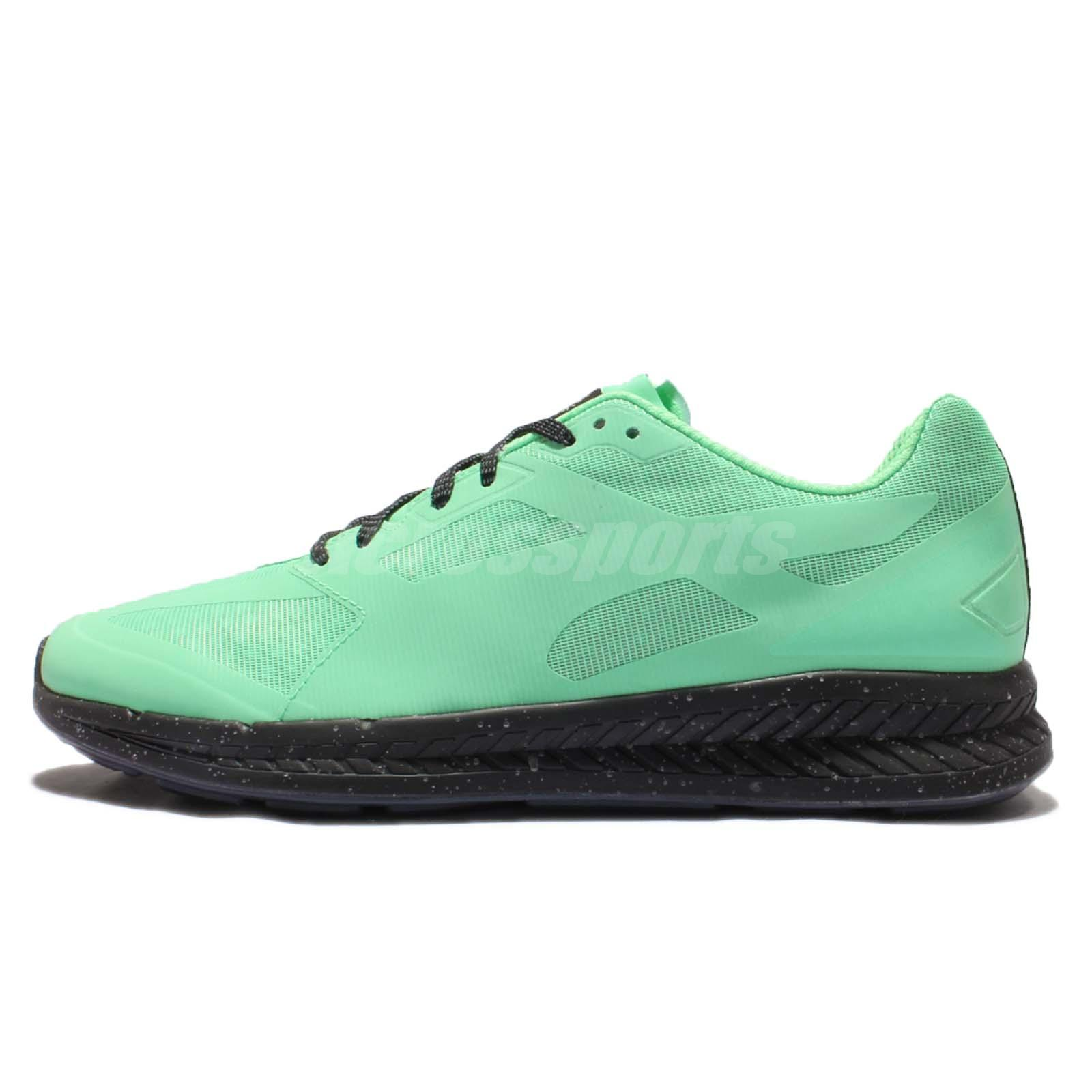 Puma X ICNY Ignite Ice Cream Pack Green Black Reflective Mens Running  361096-02