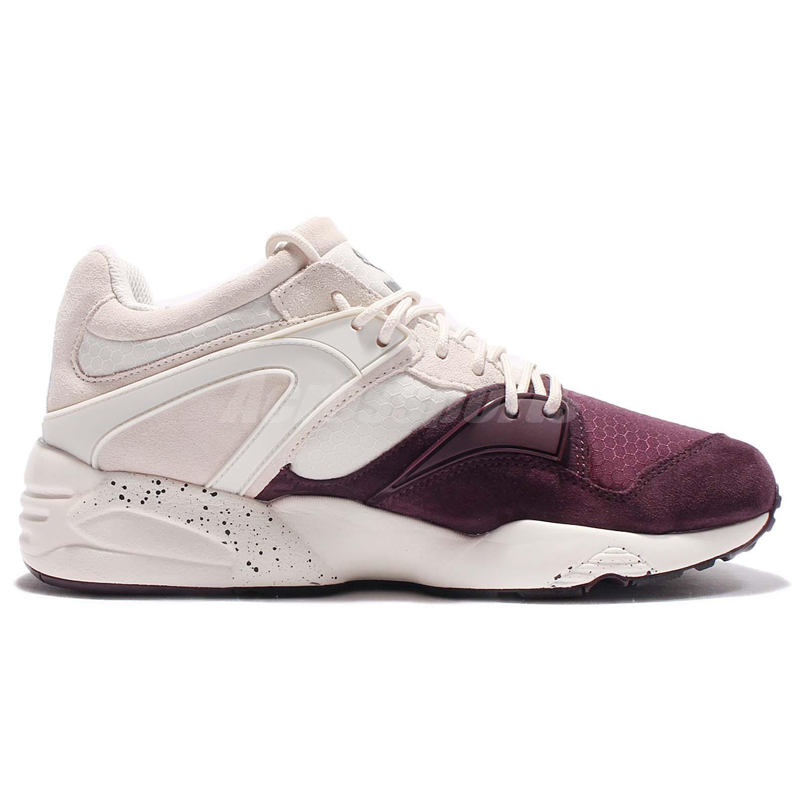 Détails 361341 03 Trainers Men White Shoe Puma Purple Tech Winter Sur Trinomic Blaze Running SMVpqUzG