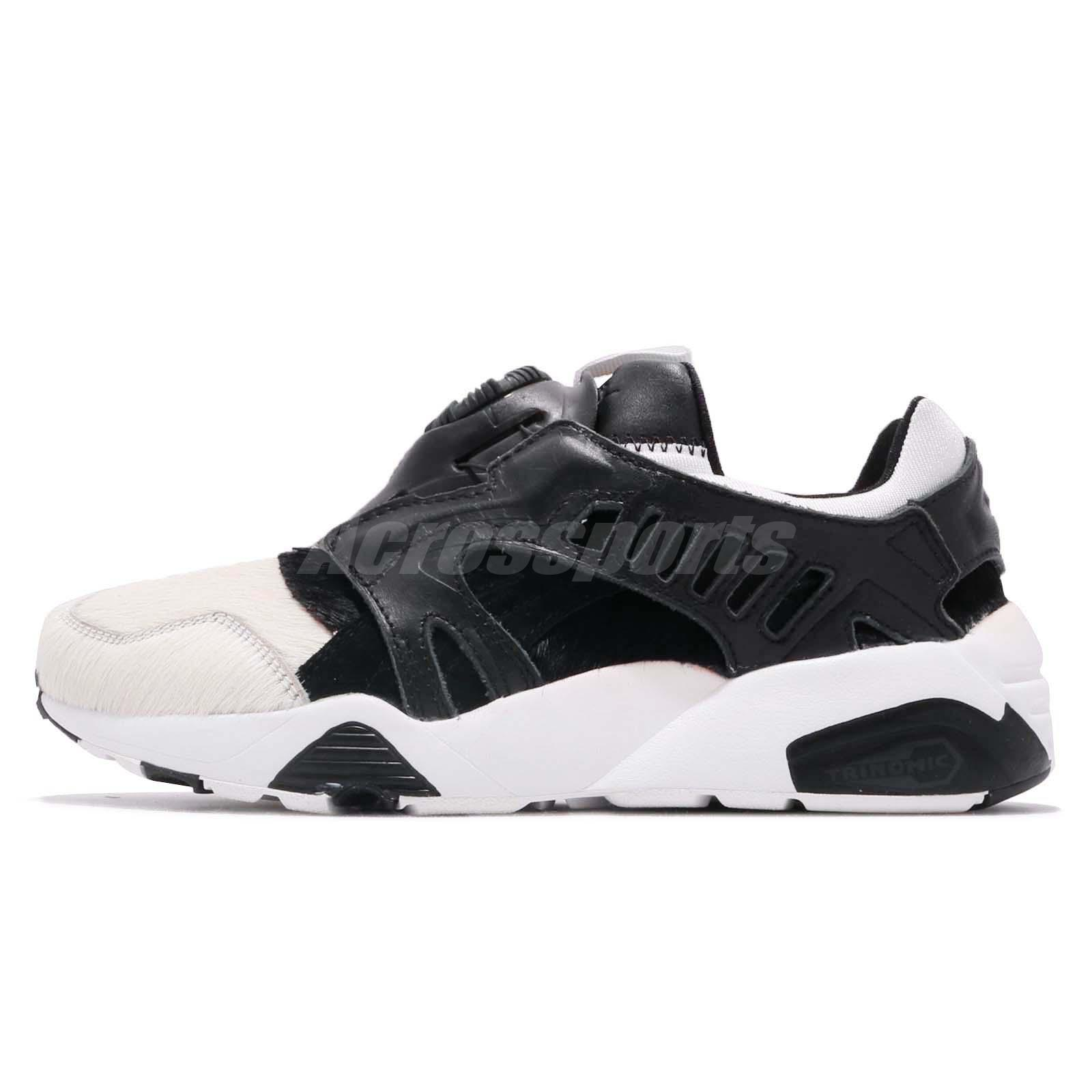 7a8936d1cca Puma Disc Panda By Deal White Black Women Running Shoes Sneakers 361382-01