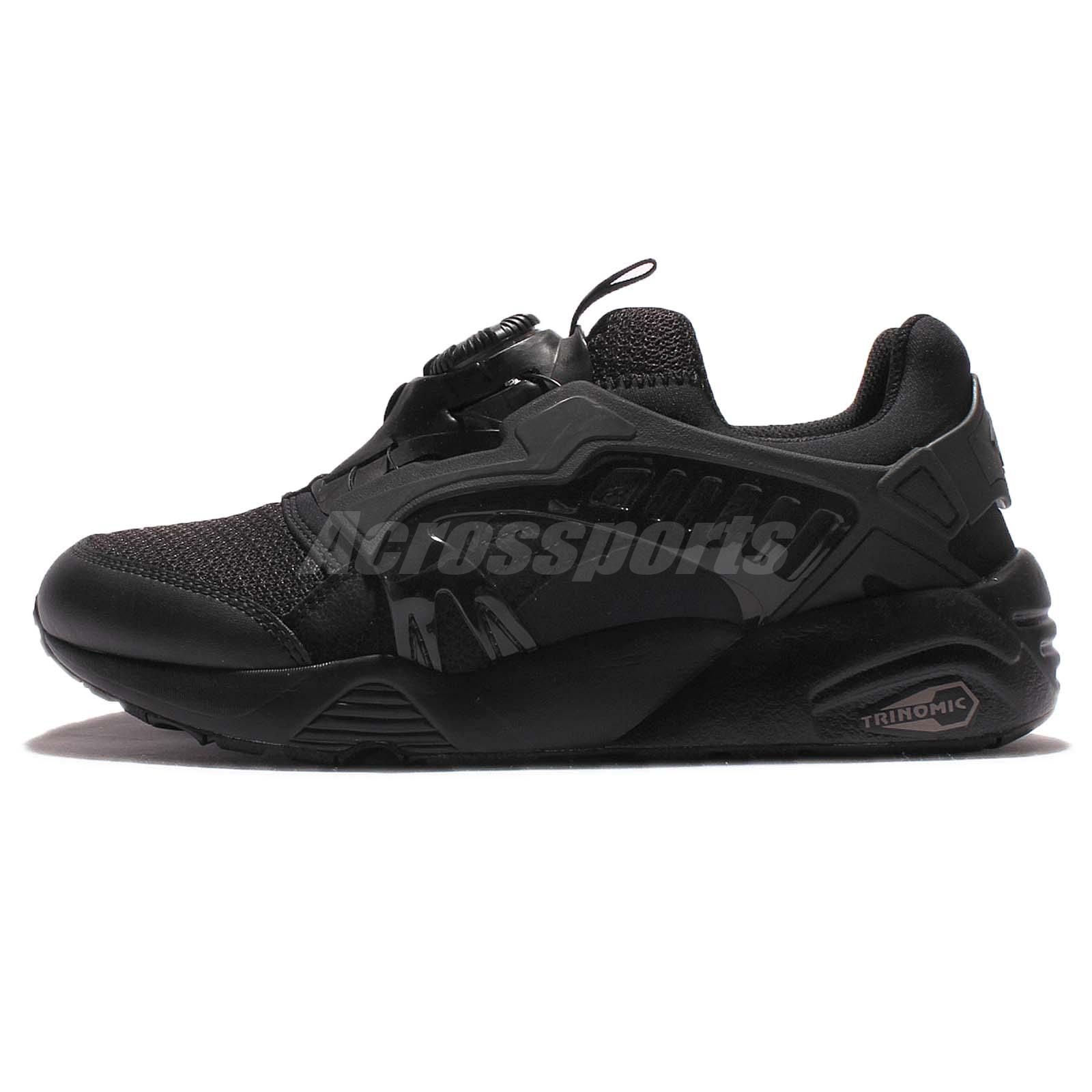 Details about Puma Disc Blaze CT Trinomic Triple Black Men Casual Shoes  Sneakers 362040-02 274fb9668