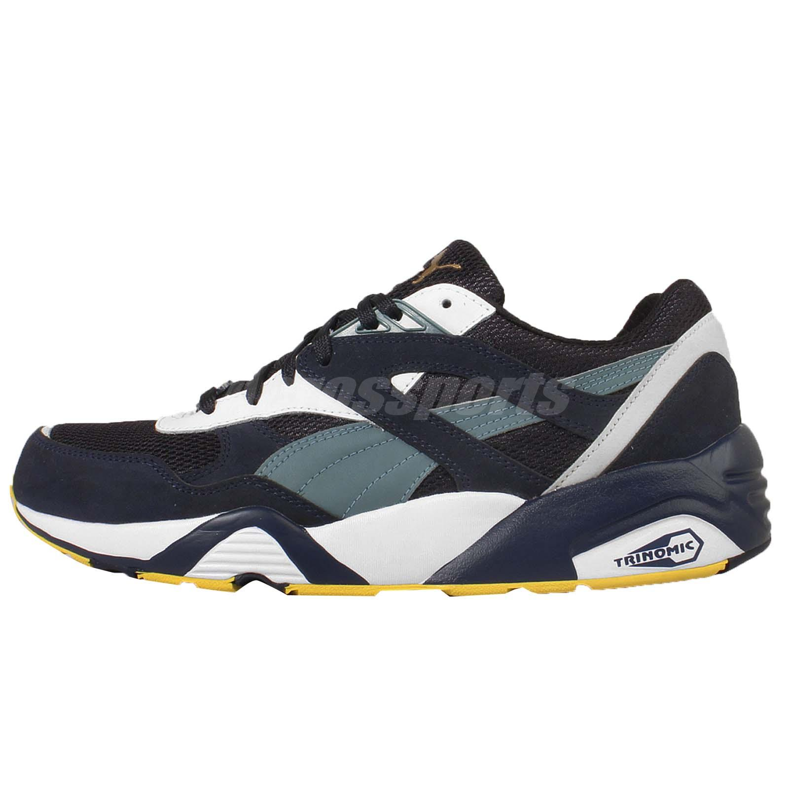 Puma R698 YOTM Navy White Yea Of The Monkey Mens Running Shoes 362093 03