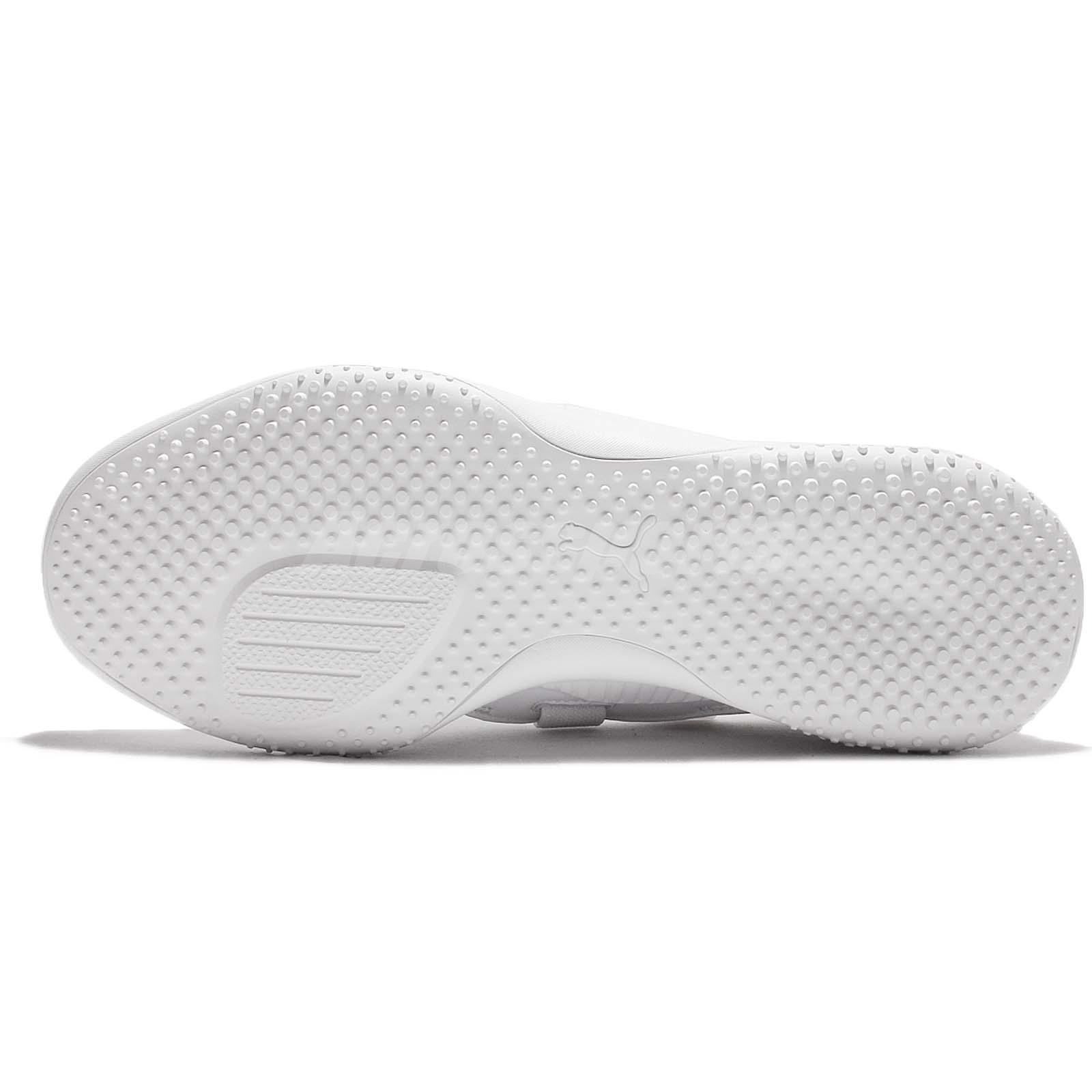 f5d7a3baaa74 Puma Evolution Mostro Triple White Men Casual Lightweight Sneakers ...