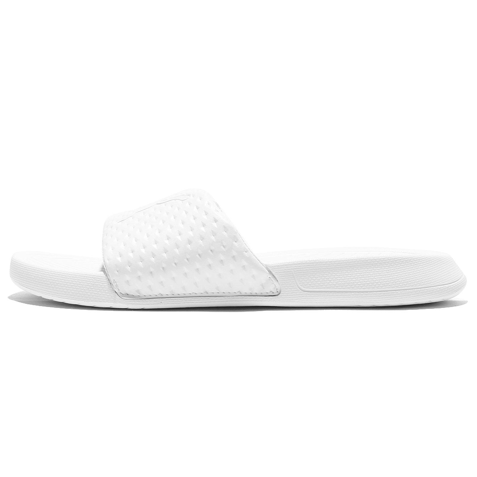 907857abf9aeea Puma Popcat Premium EVA Midsole Triple White Men Sandal Slides Slipper  362458-01