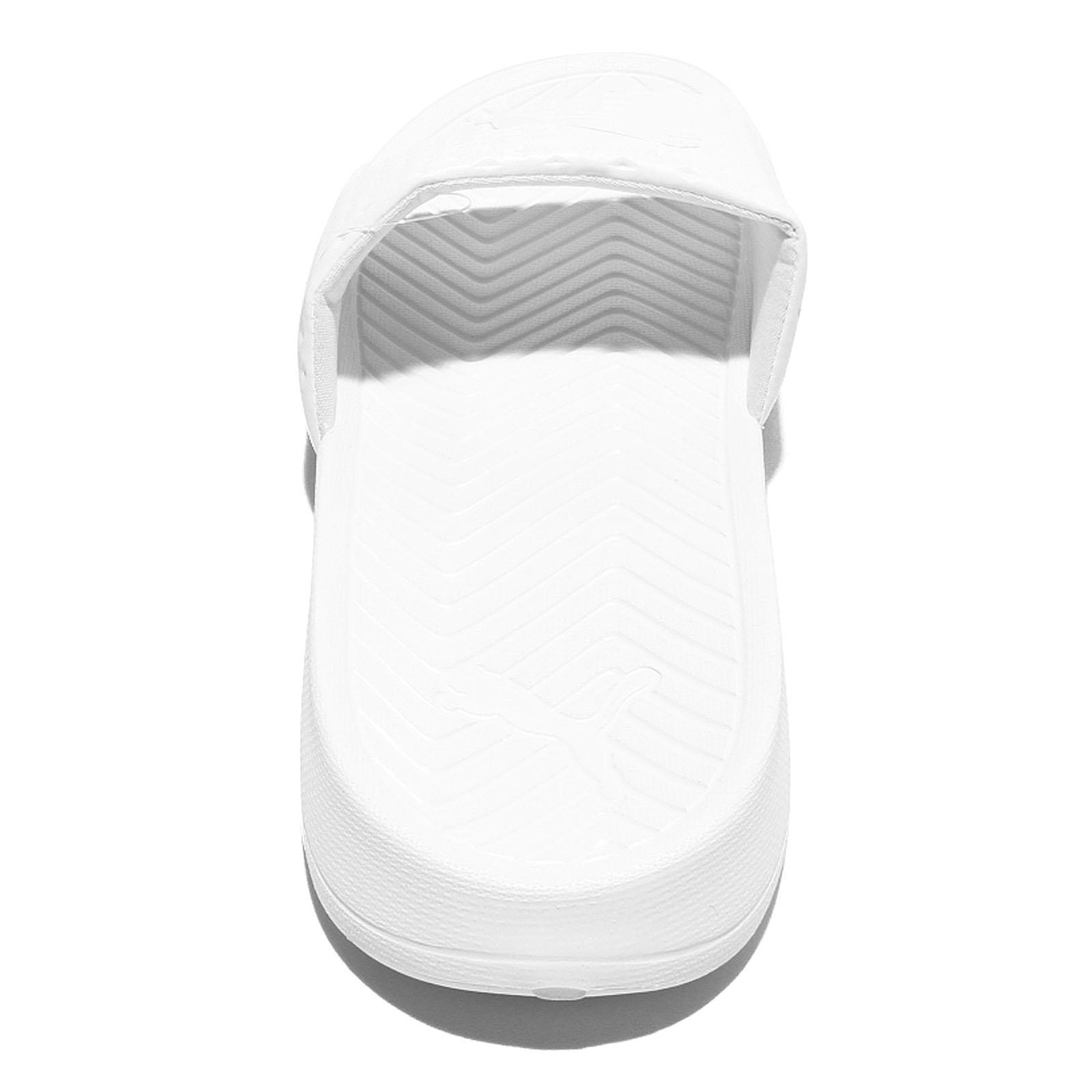 087e10c36653e Puma Popcat Premium EVA Midsole Triple White Men Sandal Slides ...