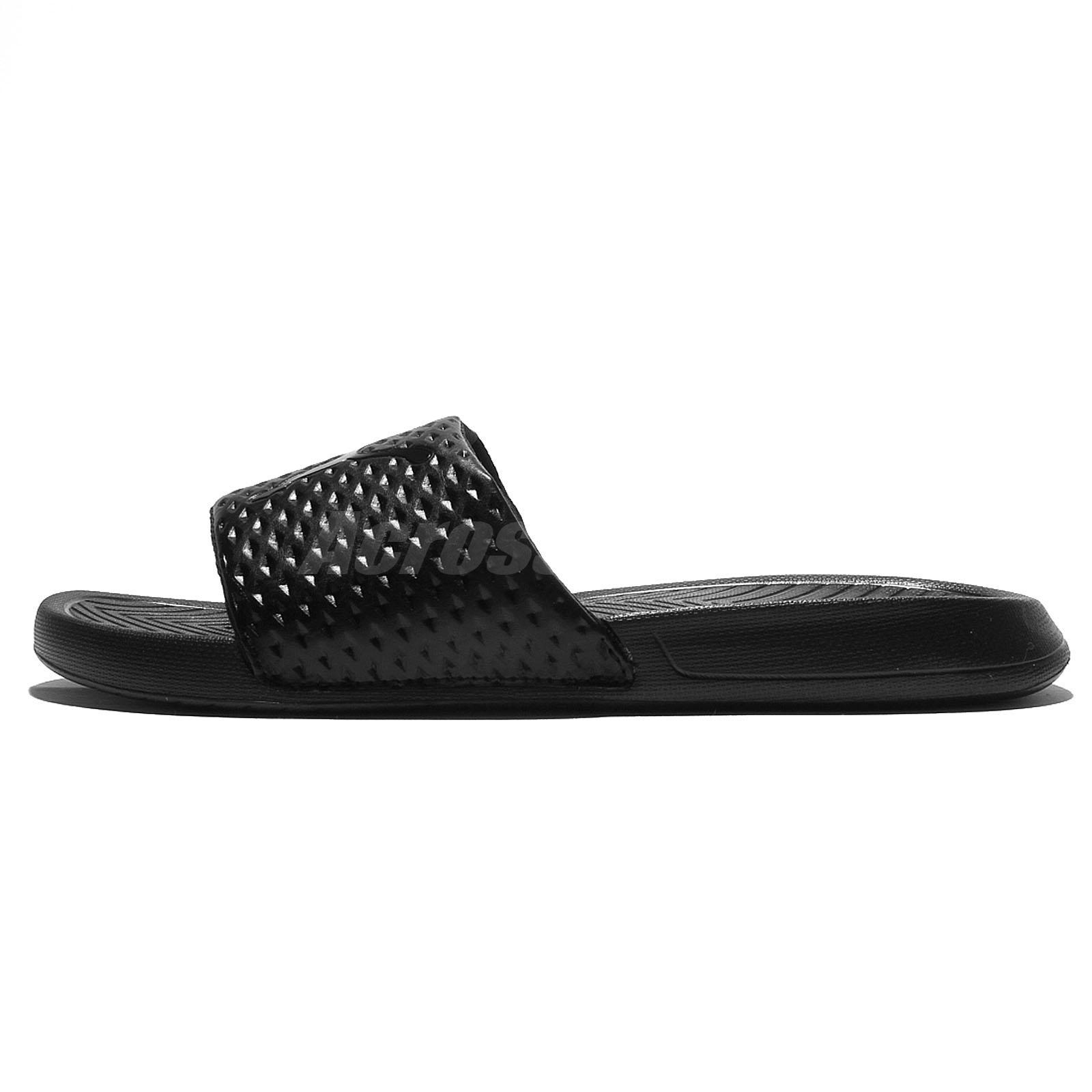 bc09b53b3db3 Puma Popcat Premium Black Men Sandal Slides Slippers 362458-02