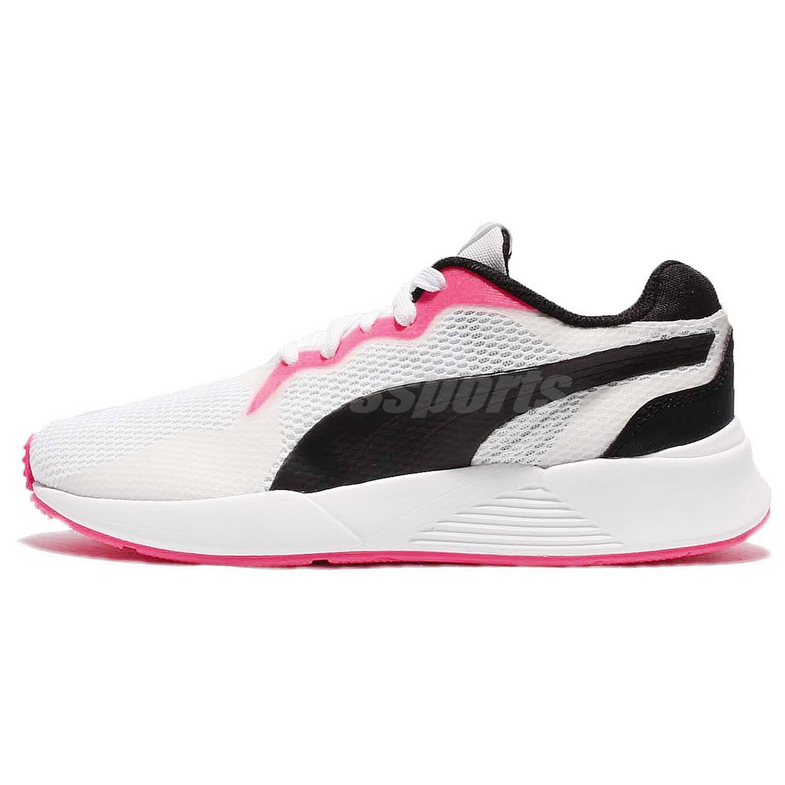 Puma Pacer Plus Tech White Black Men Running Shoes Sneakers Trainers  363338-04