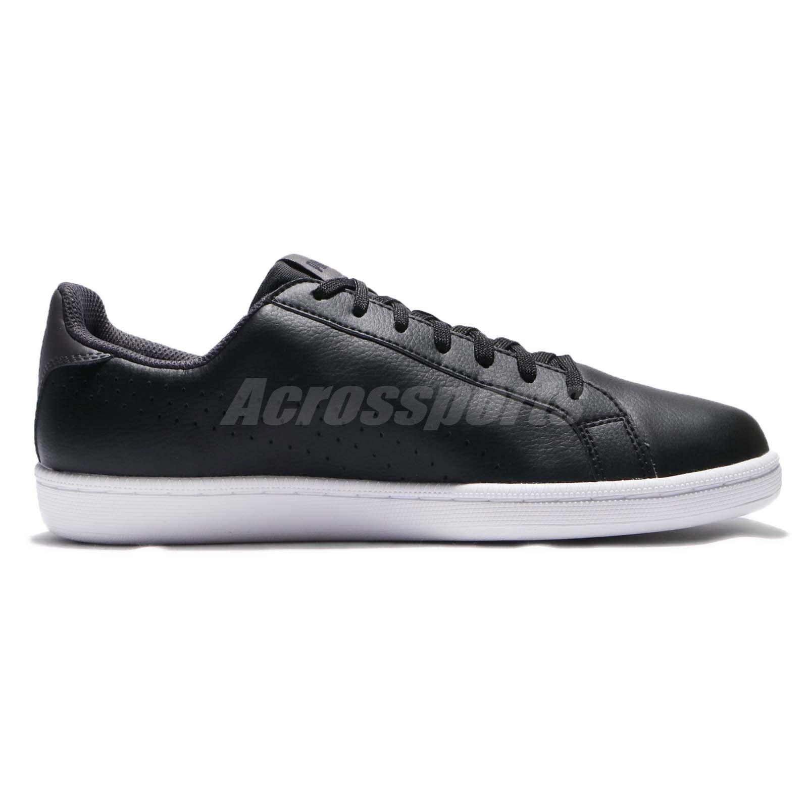 Puma Smash Perf Leather Black White Men Casual Shoes Sneakers 363722