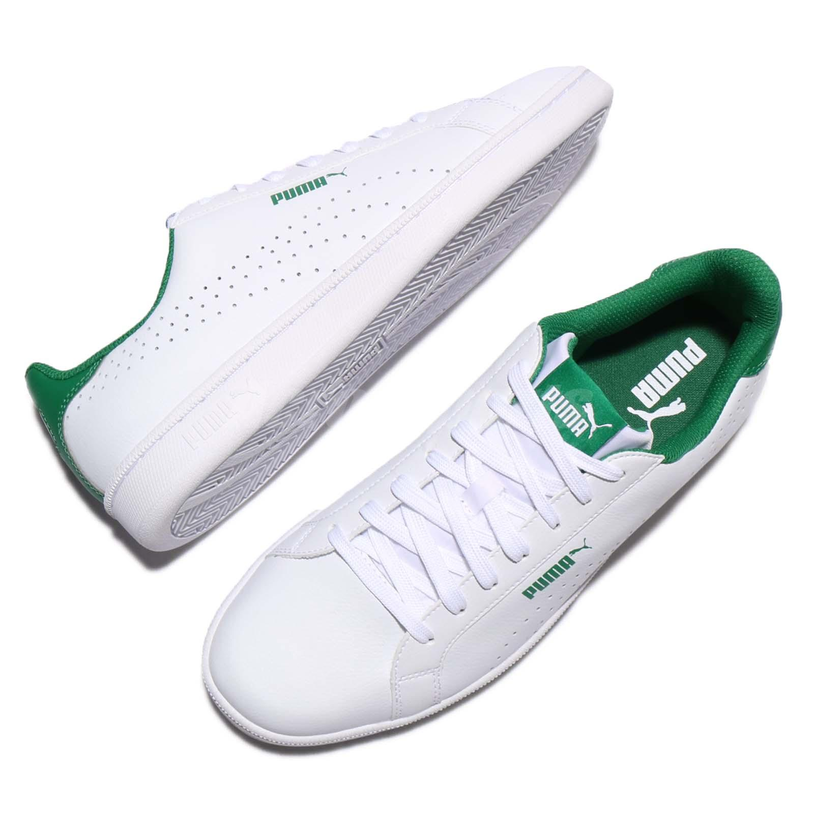 White On White Leather Tennis Shoes  S
