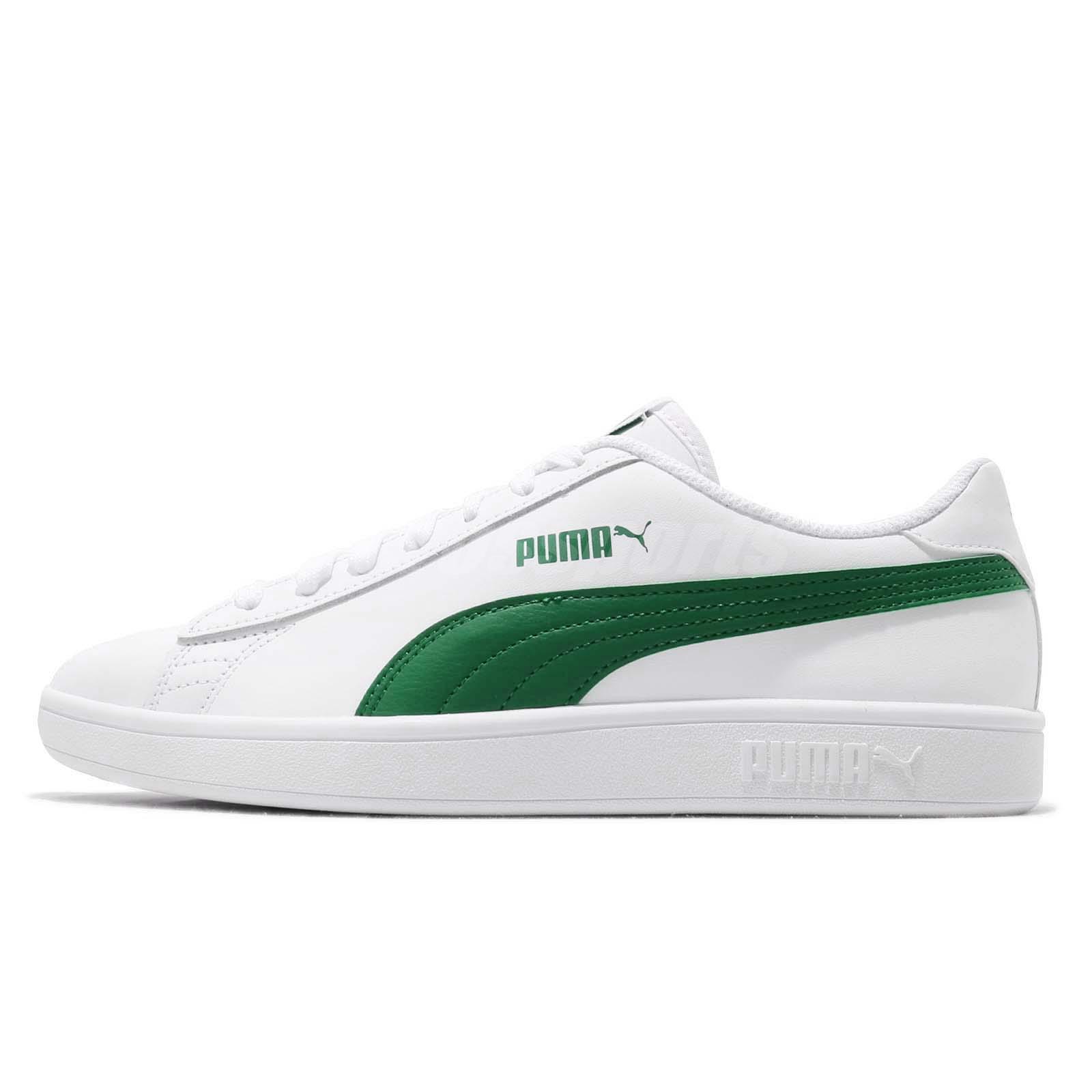 4b512a005b7a15 Puma Smash V2 L White Amazon Green Men Women Casual Shoes Sneakers 365215-03