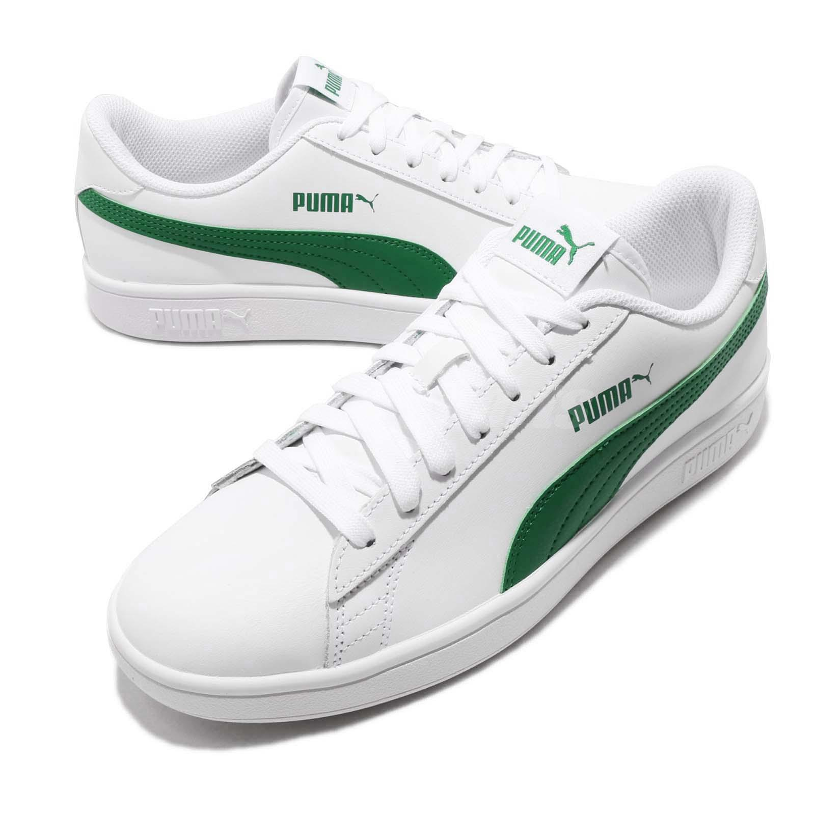 better clearance sale best website Puma Smash V2 L White Amazon Green Men Women Casual Shoes Sneakers ...