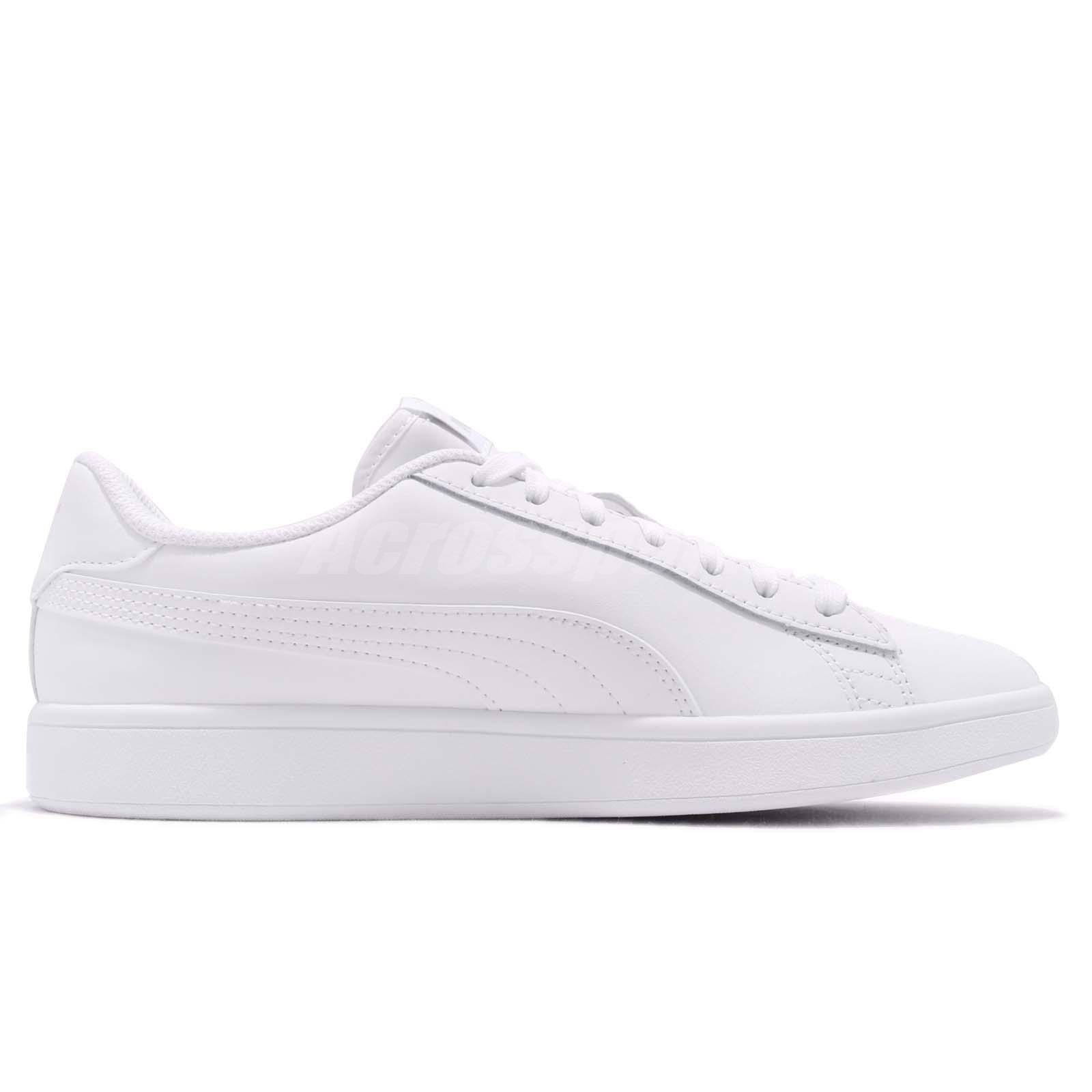 ff22ae4b93c Puma Smash V2 L White Men Classic Shoes Sneakers 365215-07