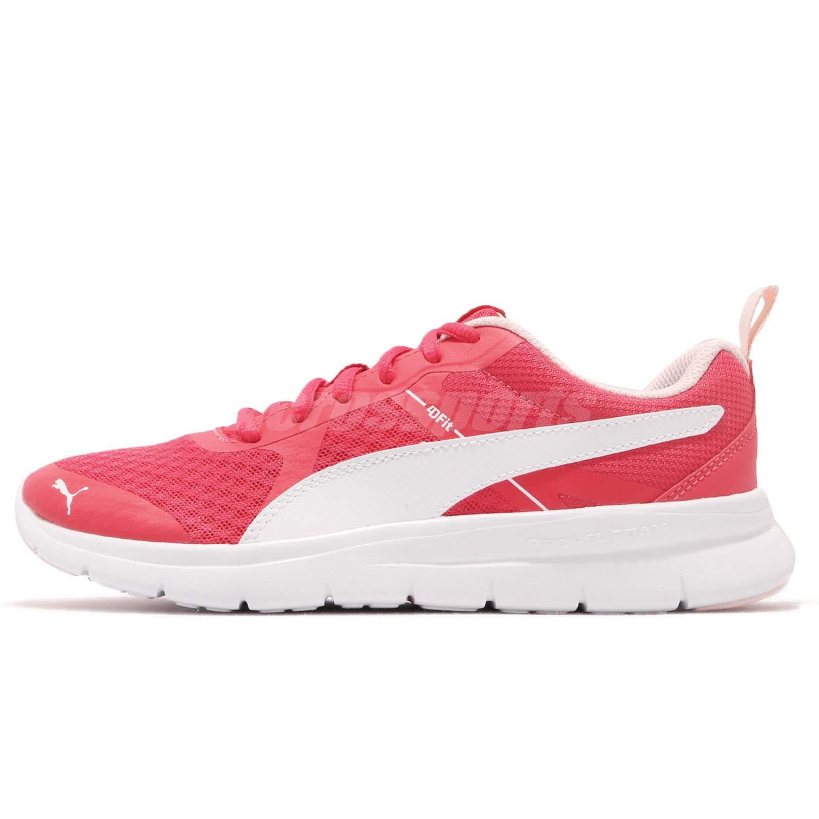 86eac3670fc7 Puma Flex Essential Pink White Men Women Running Shoes Sneakers 365268-06