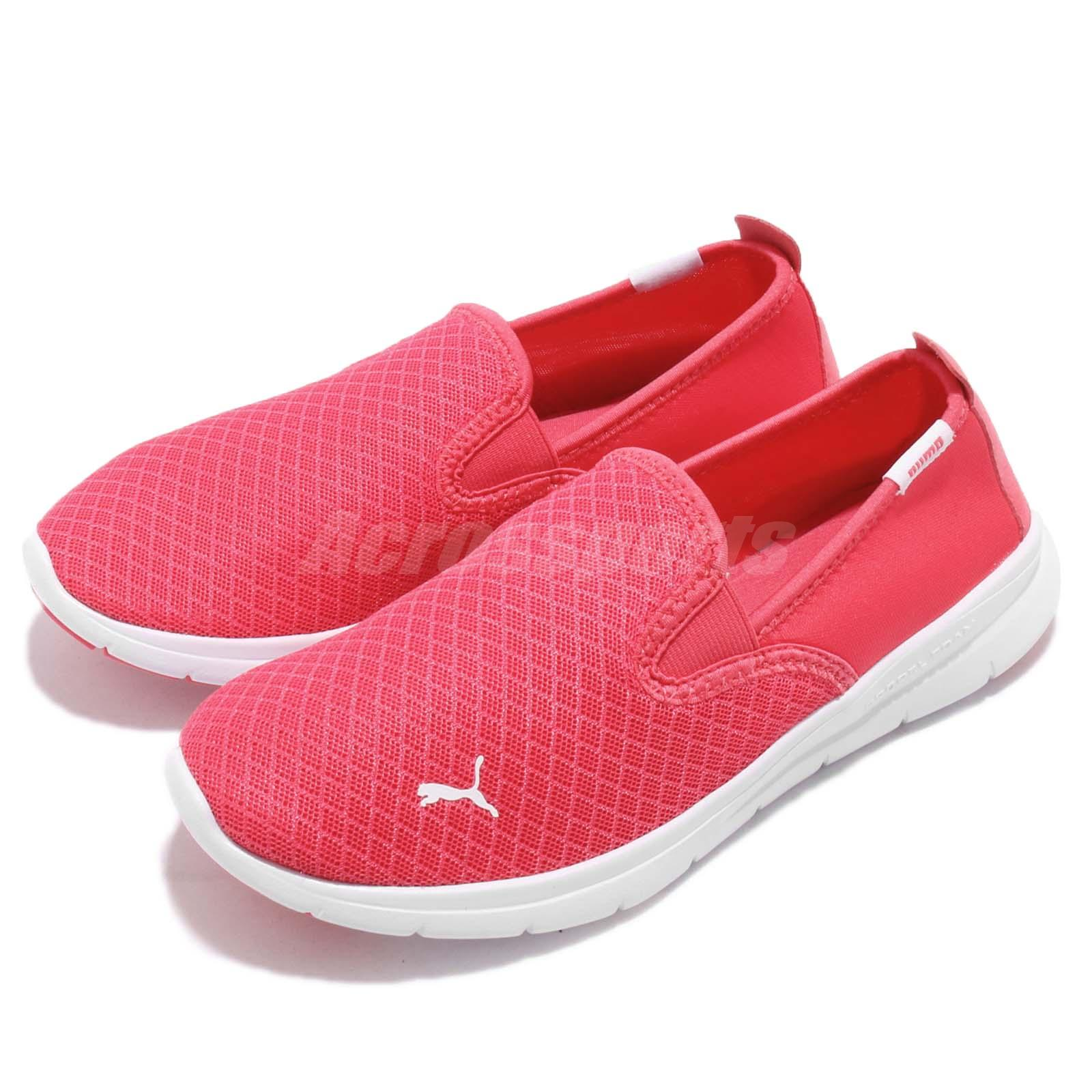 Détails sur Puma Flex Essential Slip On Paradise Pink White Men Women Shoe Sneaker 365273 03