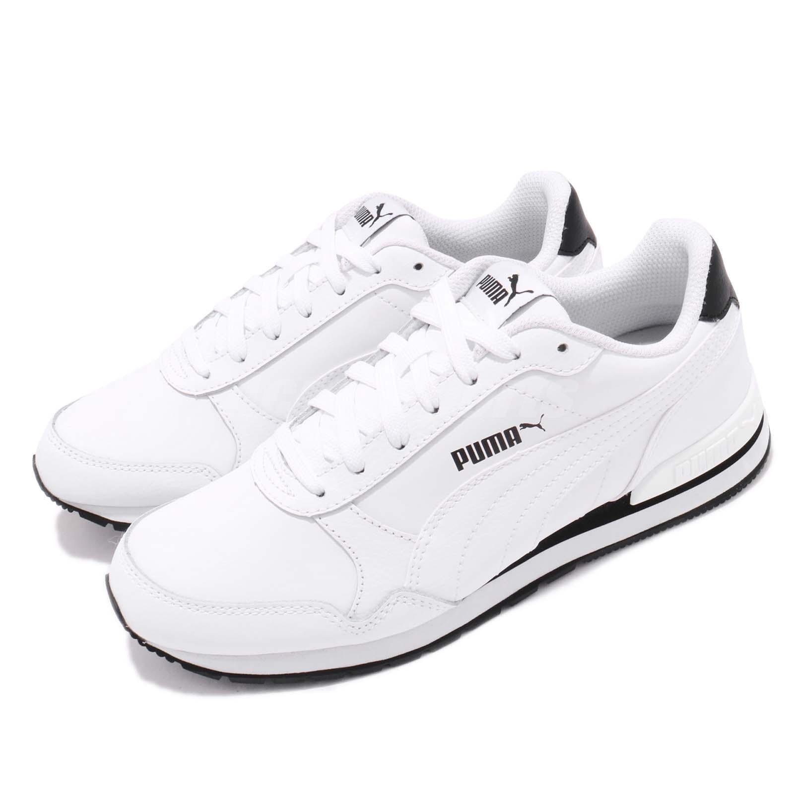 04b2ef8385b24 Details about Puma ST Runner V2 Full L White Black Men Women Running Casual  Shoes 365277-01