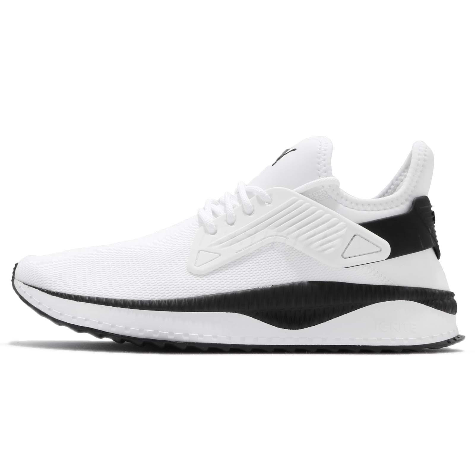950ce1b4723c8c Puma Tsugi Cage Ignite White Black Men Running Shoes Sneakers 365394 ...