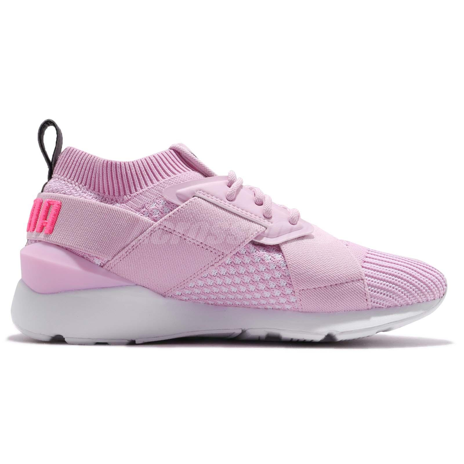 b63632f1f0b24e Puma Muse EvoKnit Wns Winsome Orchid Women Running Shoes Sneakers ...