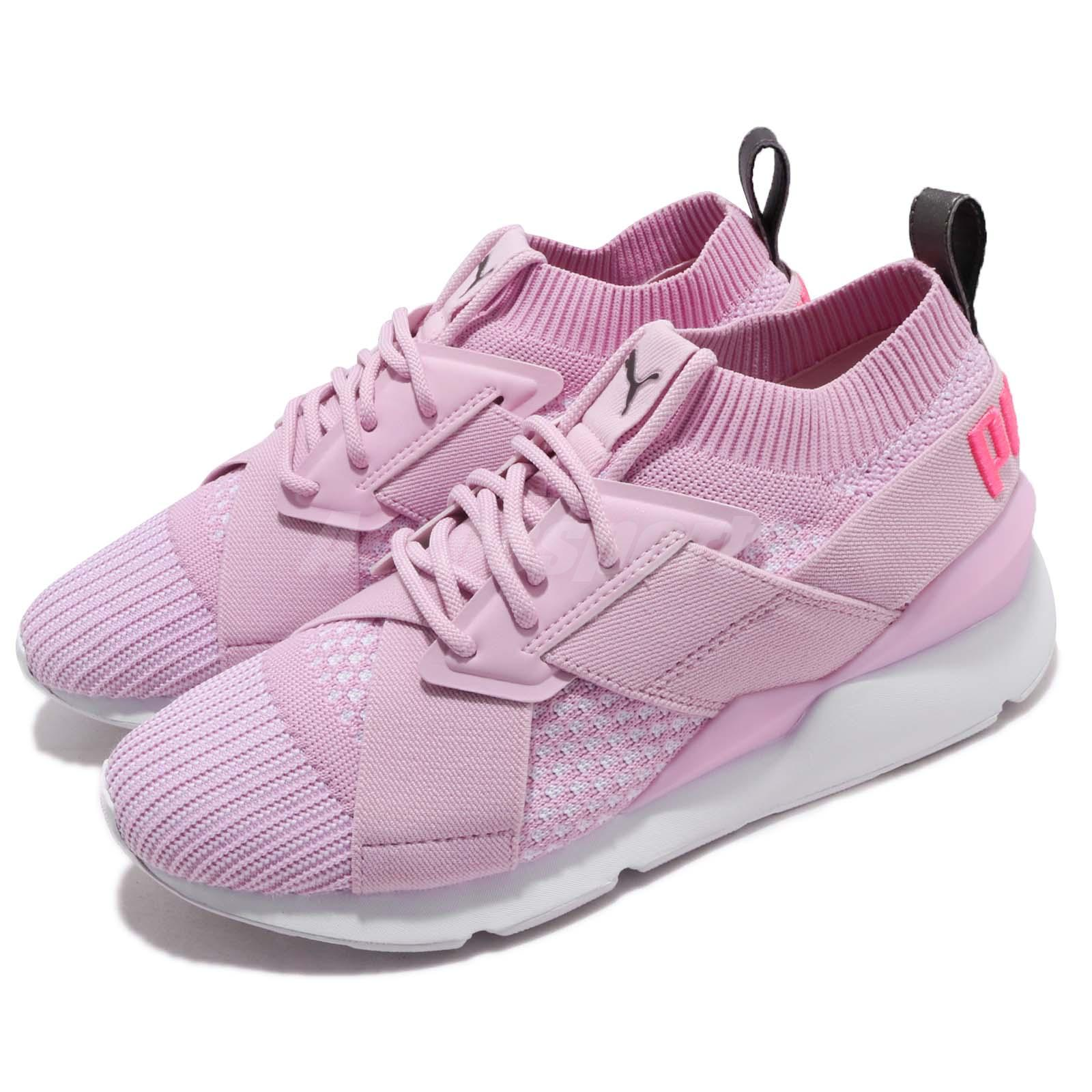 Orchid Women Shoes Puma Wns Winsome Muse Evoknit Sneakers Running EWDIHY29