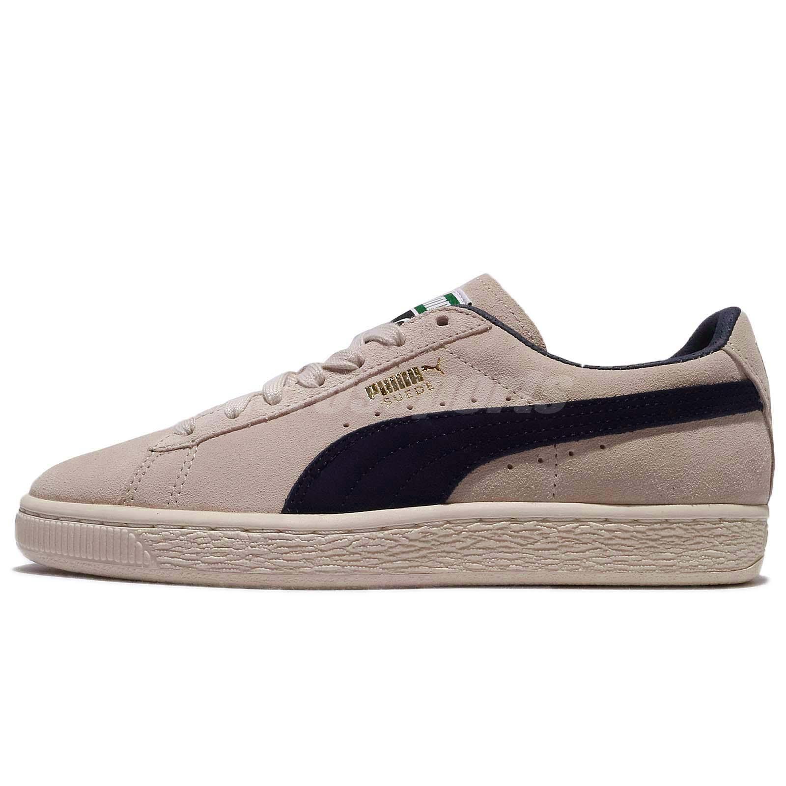 Puma Suede Classic Archive Low Birch Peacoat Men Shoes Sneakers 365587-02 8348aa072daa
