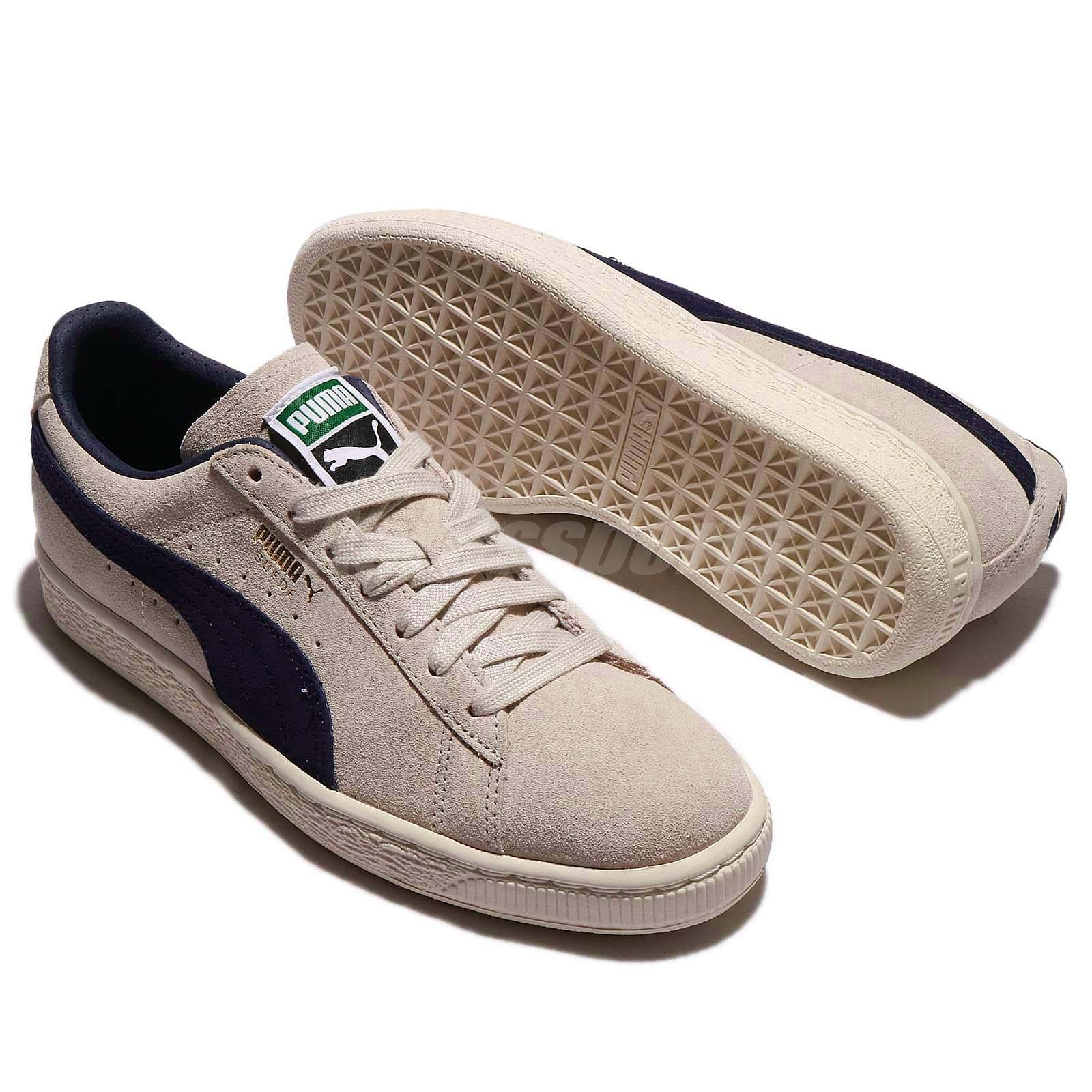 Puma Suede Classic Archive Low Birch Peacoat Men Shoes Sneakers ... 6728d8dba