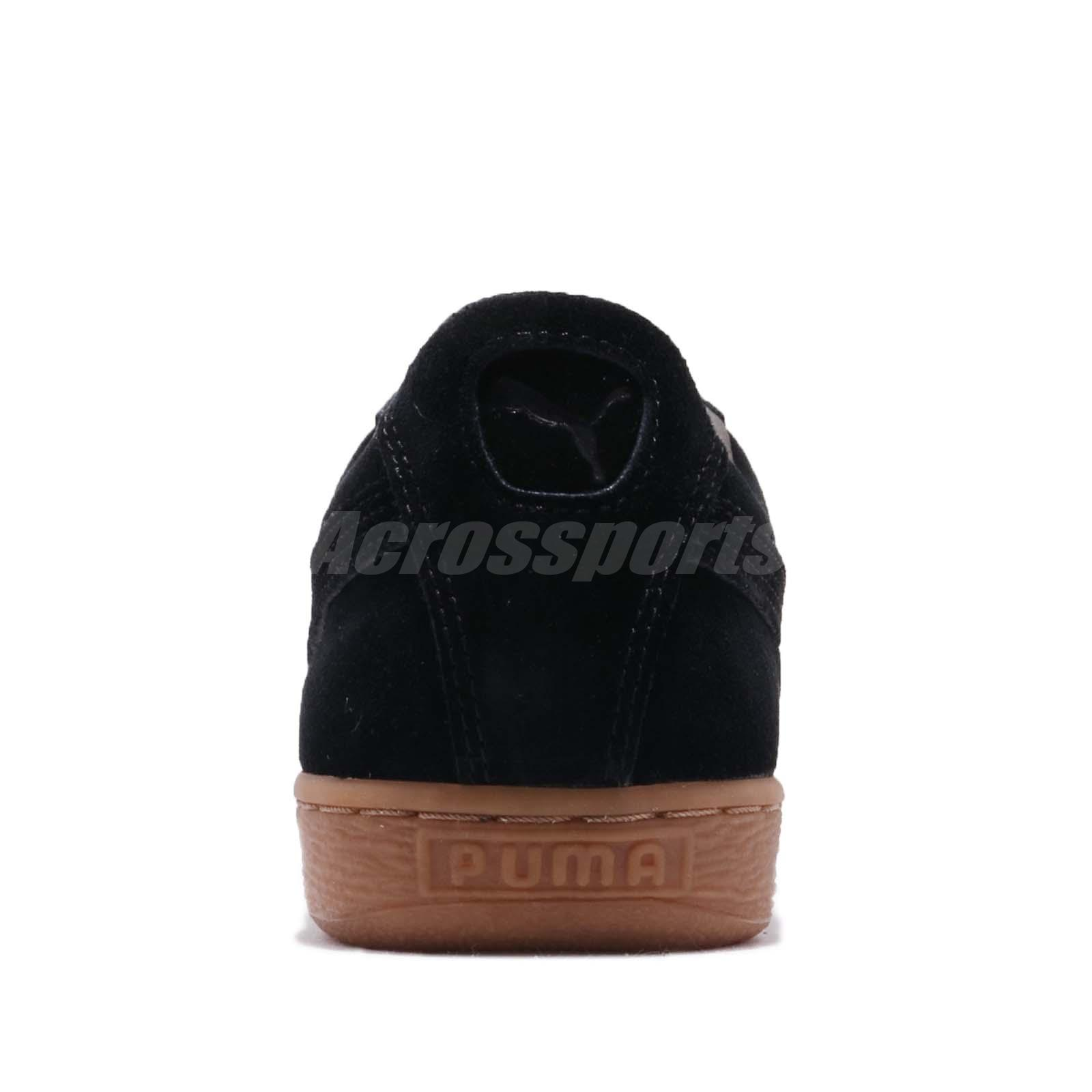 Detalles acerca de Puma Gamuza Clásico pincord Negro Goma Hombres Mujeres Informal Zapatos Tenis 366235 01 mostrar título original