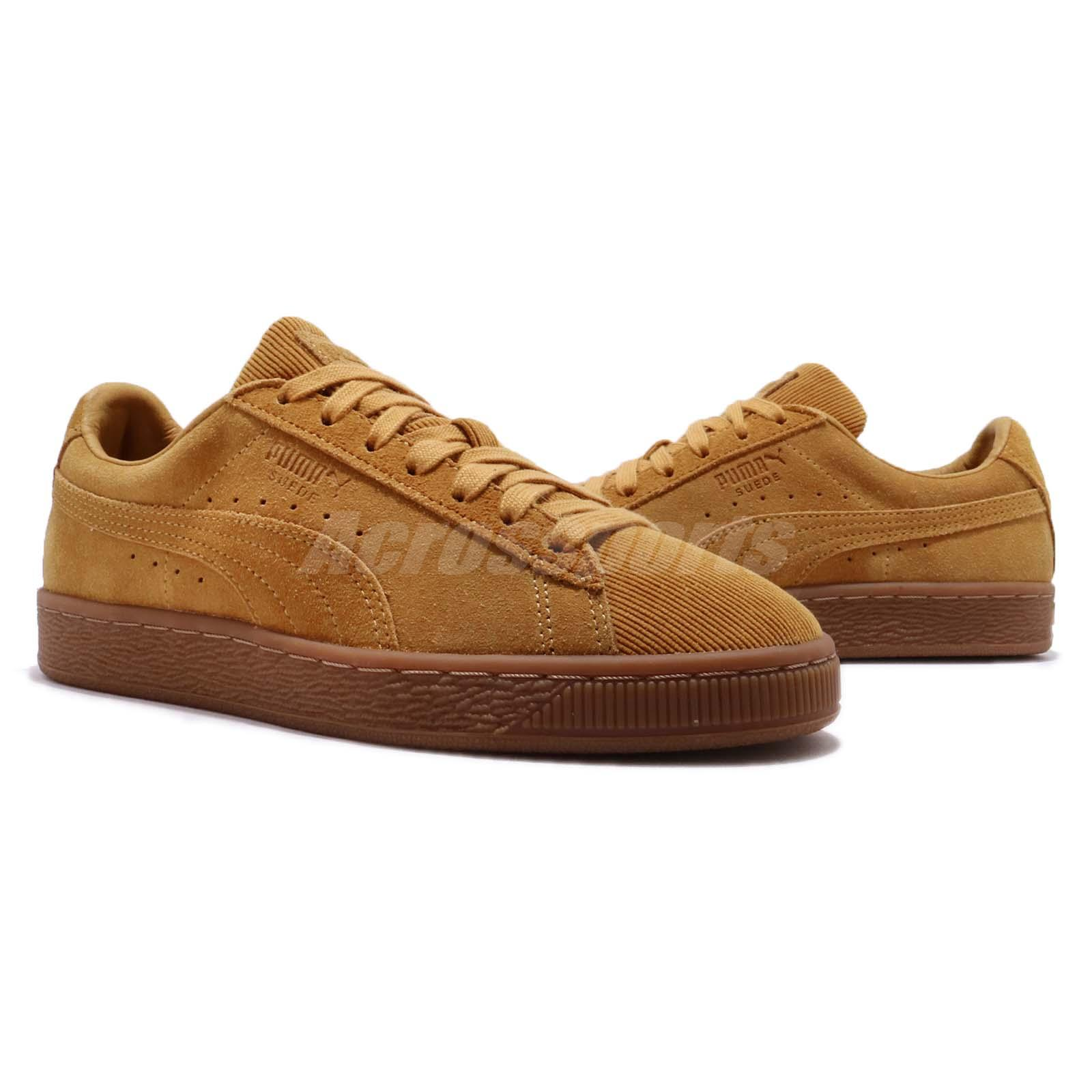 Puma Suede Classic Pincord Buckthorn Brown Gum Men Casual Shoe ... a81d2b51a