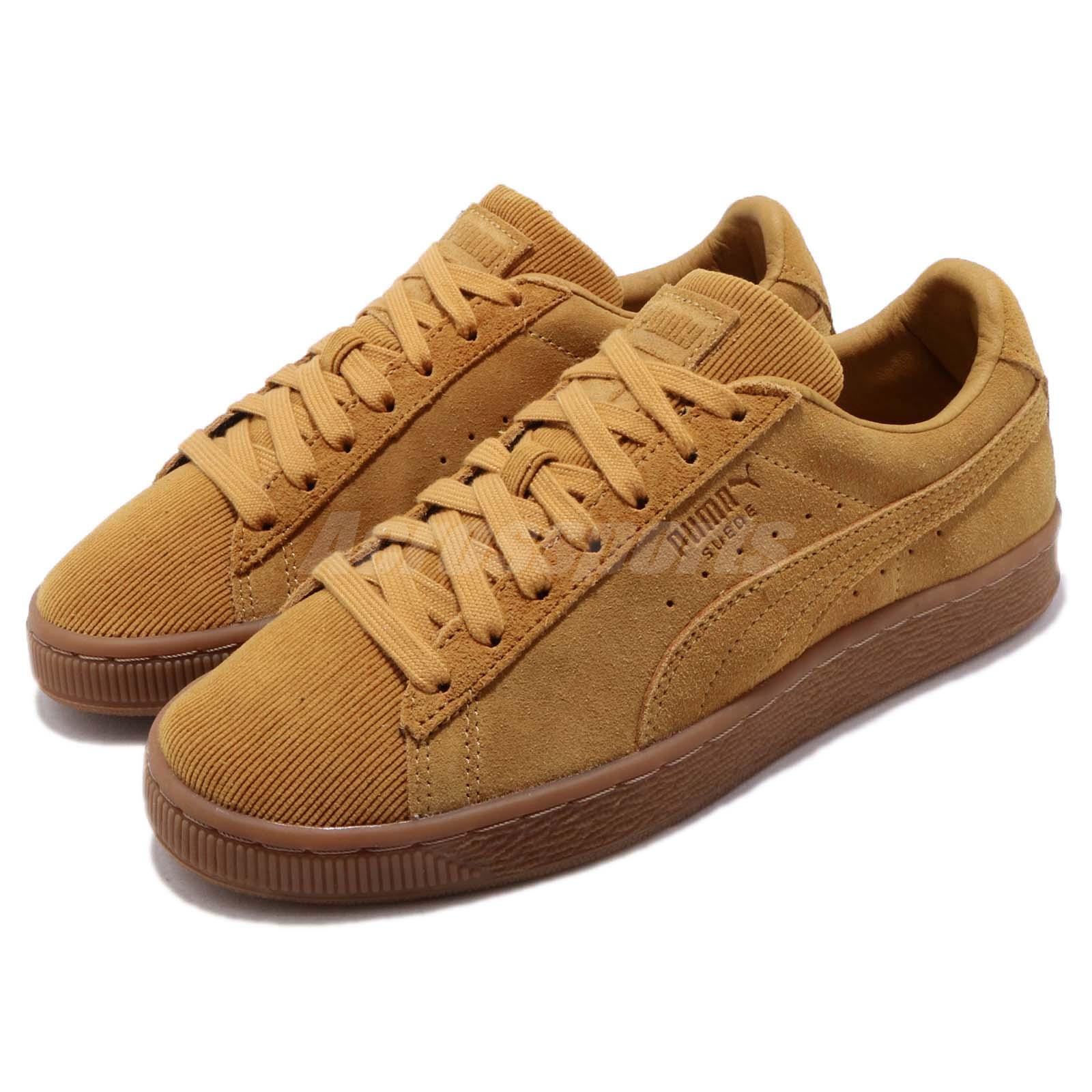 buy online c14e6 c5067 Details about Puma Suede Classic Pincord Buckthorn Brown Gum Men Casual  Shoe Sneaker 366235-03