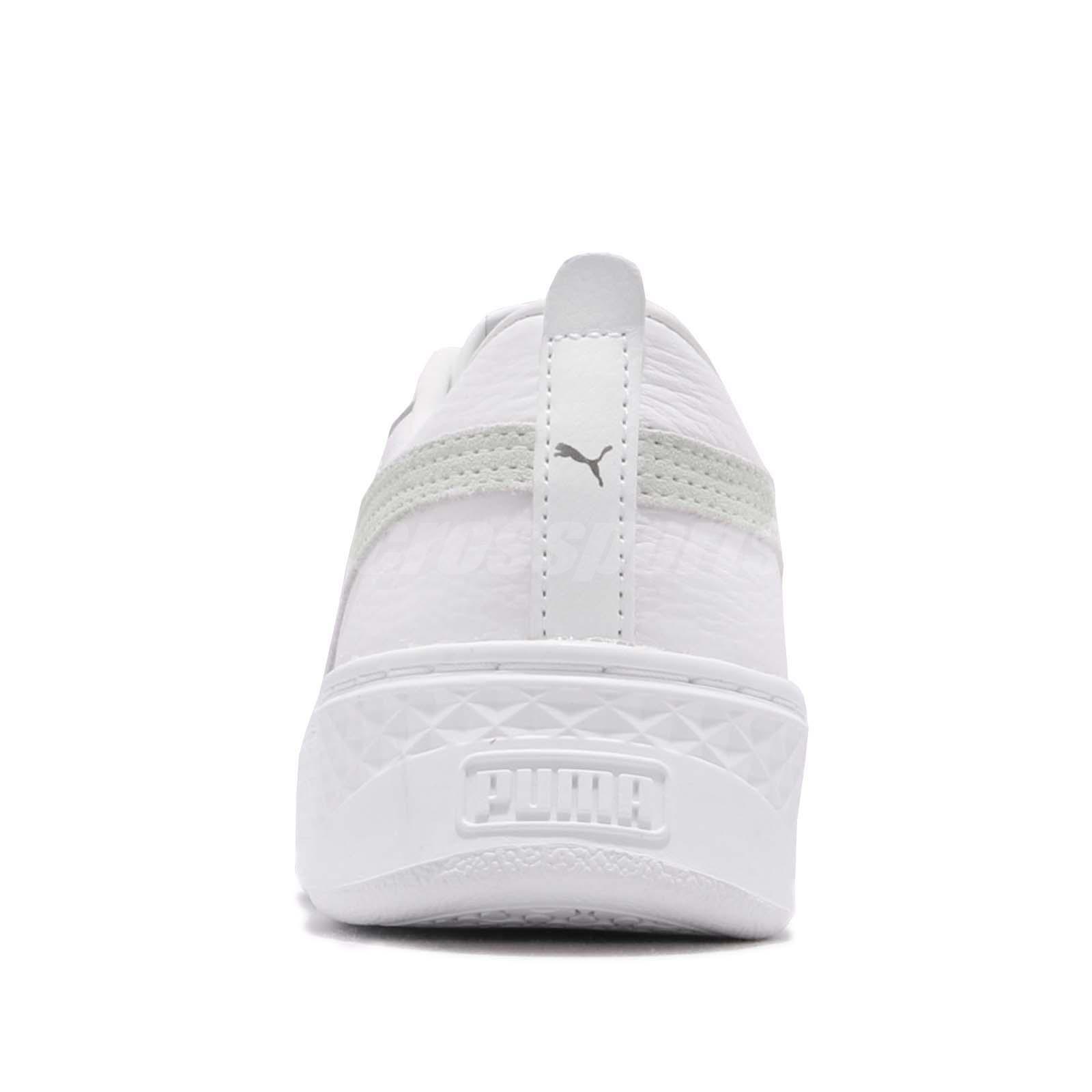 b3289ff6434e Puma Smash Platform L White Women Lifestyle Casual Shoes Sneakers ...