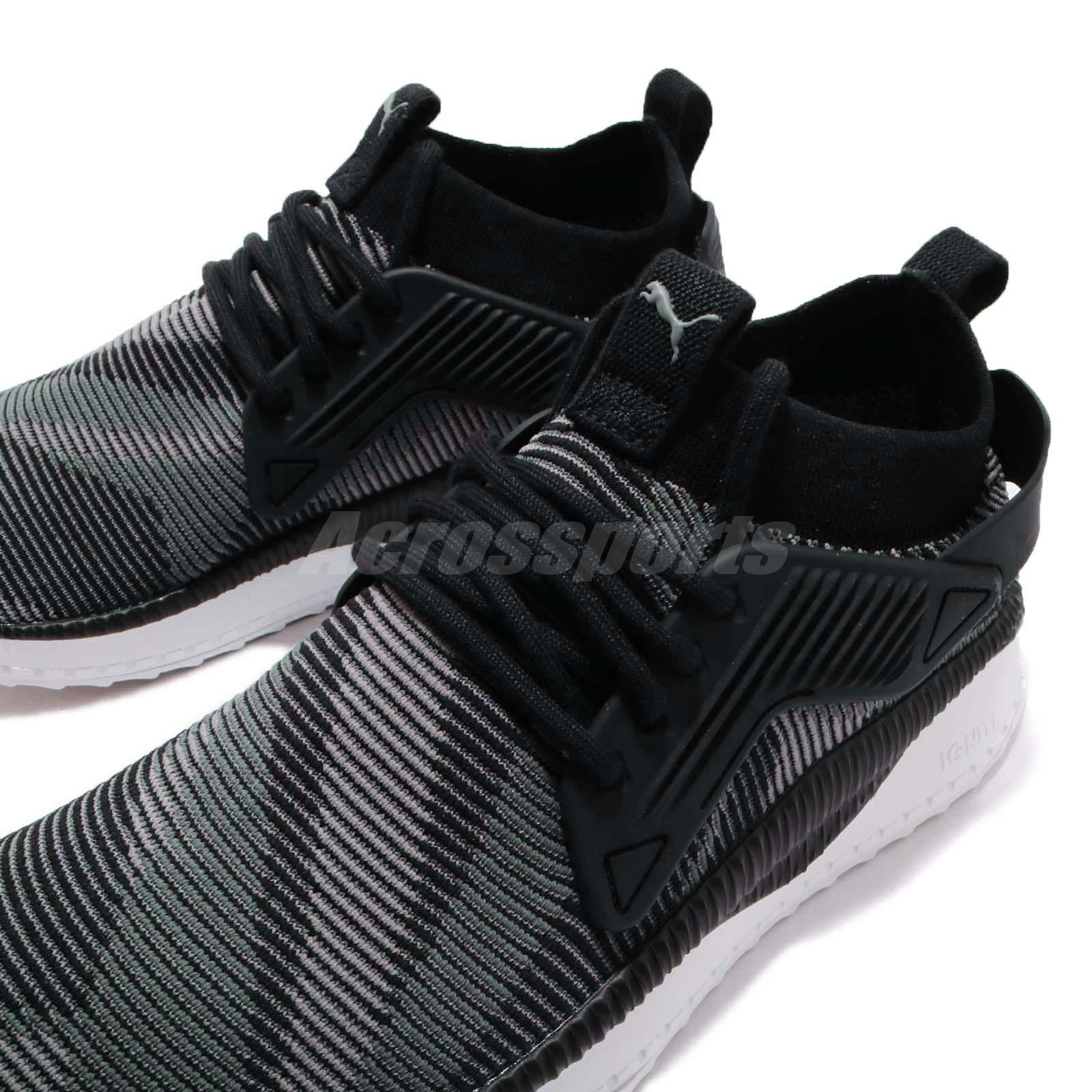 b49753d73763 Puma TSUGI Cage Dazzle Black Grey White Men Women Running Shoe ...