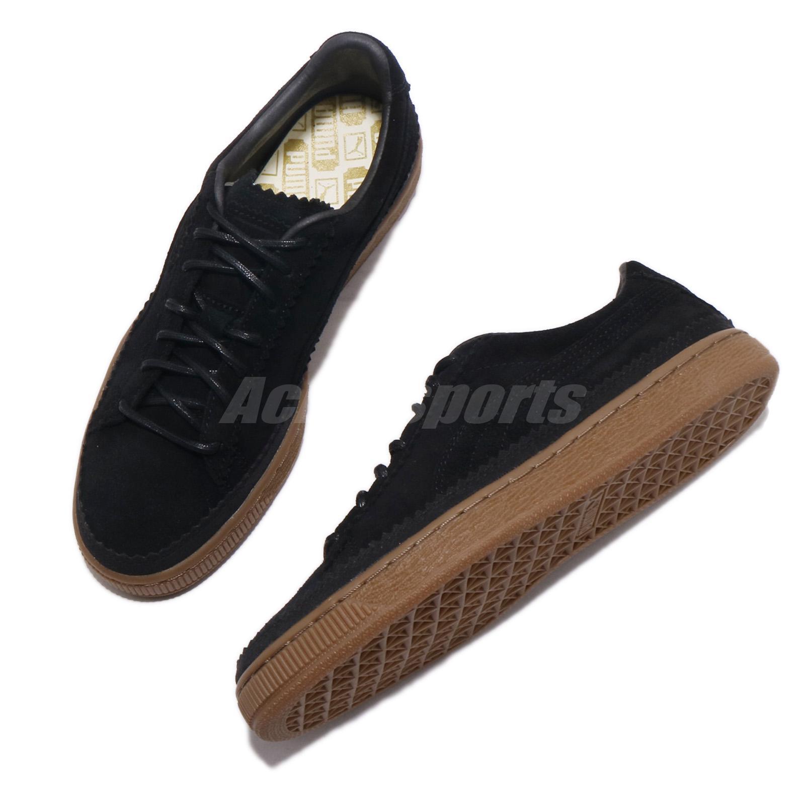 PUMA Suede Classic Brogue Herren Freizeit Low Top Sneaker Schuhe 366631-03 neu