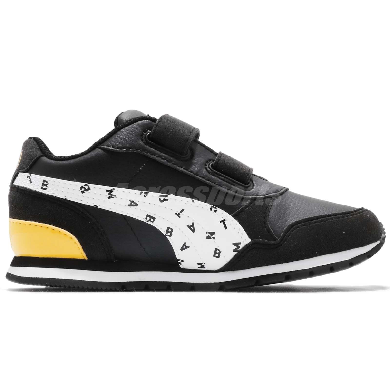 983538a209f809 Puma JL ST Runner V2 V PS Justice League Batman Kids Running Shoes ...