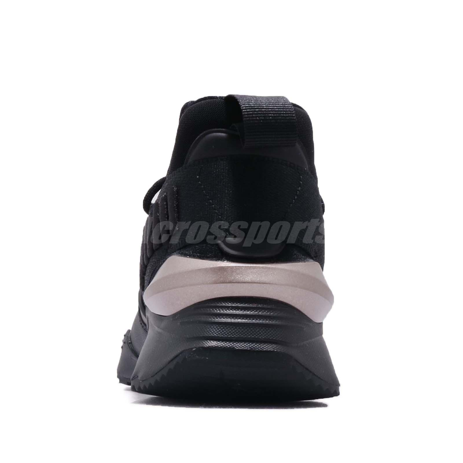 Puma Muse Maia Luxe Wns Black Women Running Casual Lifestyle Shoes ... 53f8b6e29