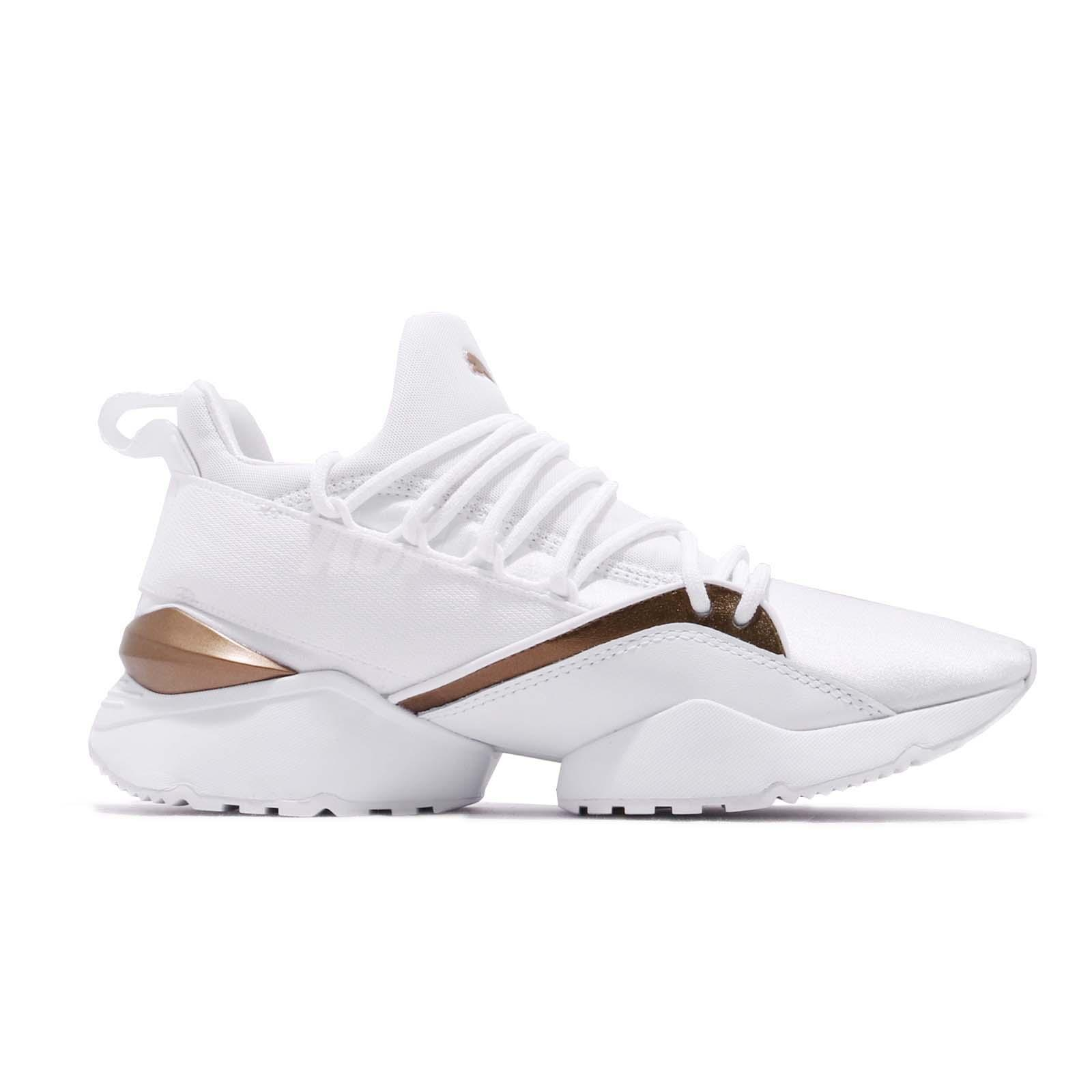 b99ef3397b Details about Puma Muse Maia Luxe Wns White Women Running Casual Lifestyle  Shoes 366766-02