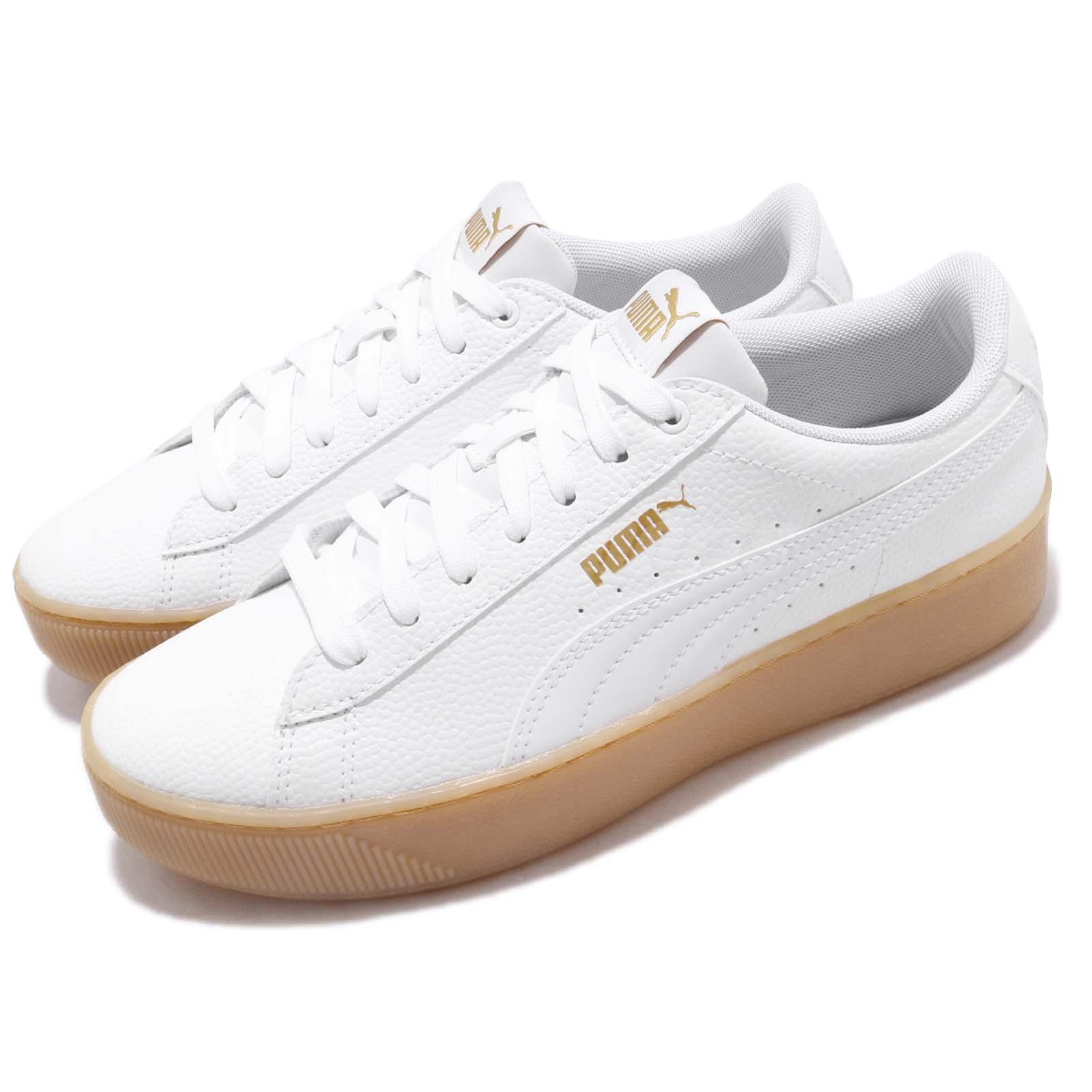 Puma Vikky Platform VT White Gum Women Lifestyle Casual Shoes ... 2f22aac91