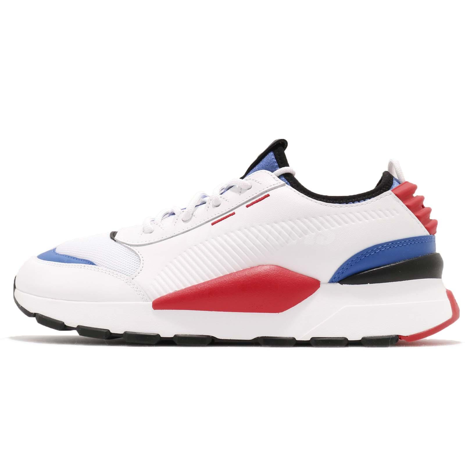 6c5730e8e97 Puma RS-0 Sound Play Running System White Blue Red Men Lifestyle Shoes  366890-01