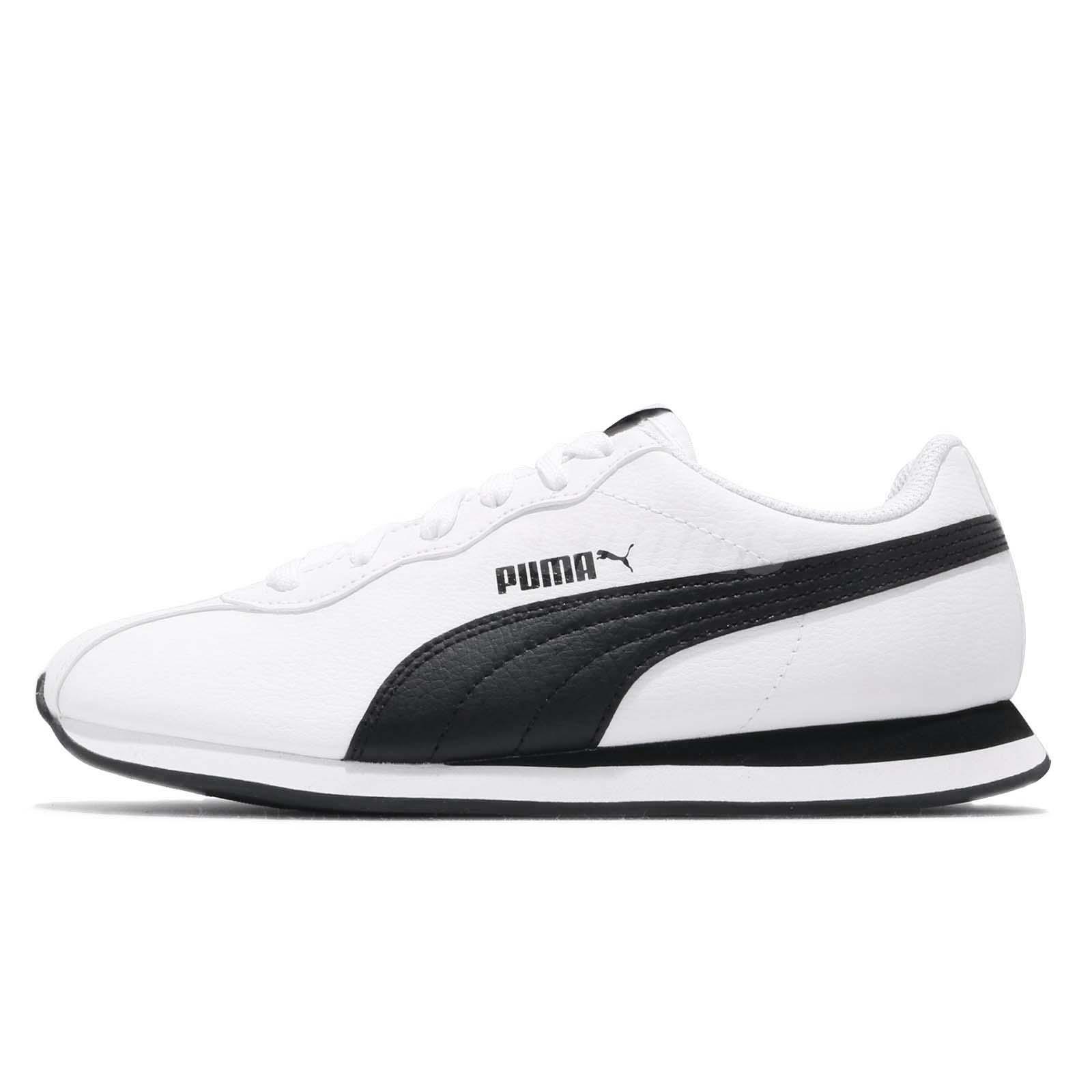 Puma Turin II 2 White Black Men Running