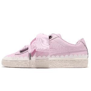 354210d8f73 Details about Puma Basket Heart Patent Wns Women   JR Junior Kids Shoe  Sneakers Pick 1