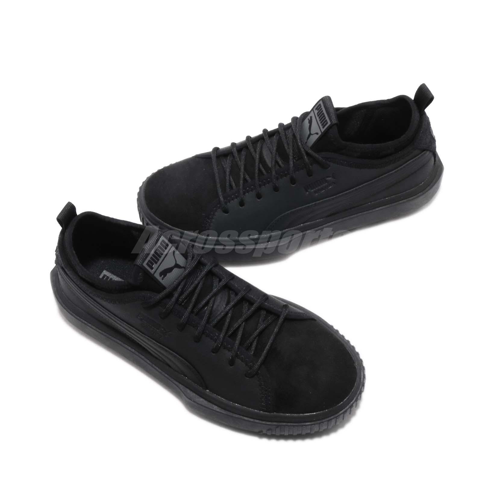 ce6d480bbf1b9b Puma Breaker Mesh PA Black Grey Men Women Casual Shoes Sneakers ...