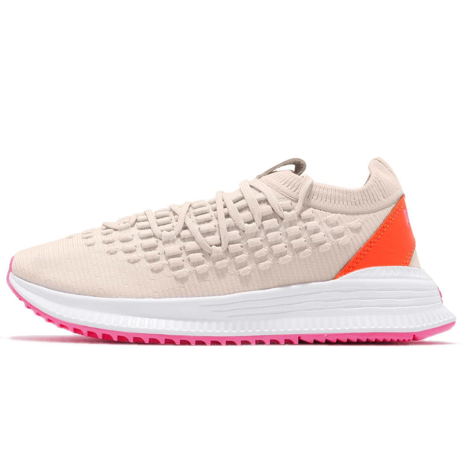 44efd1ef85 Puma AVID Fusefit Birch Orange White Pink Men Women Running Shoes 367242-11