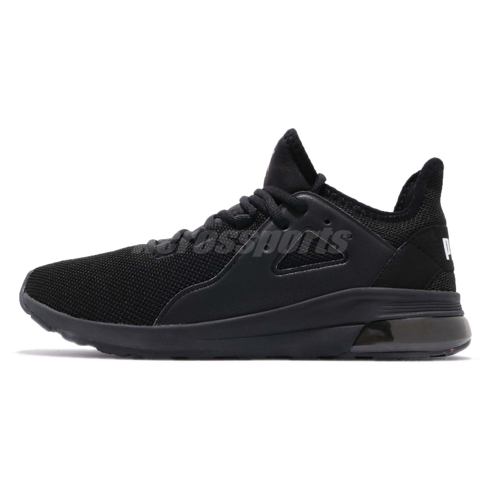 df18be96694c0a Puma Electron Street Black White Men Running Casual Shoes Sneakers 367309-01